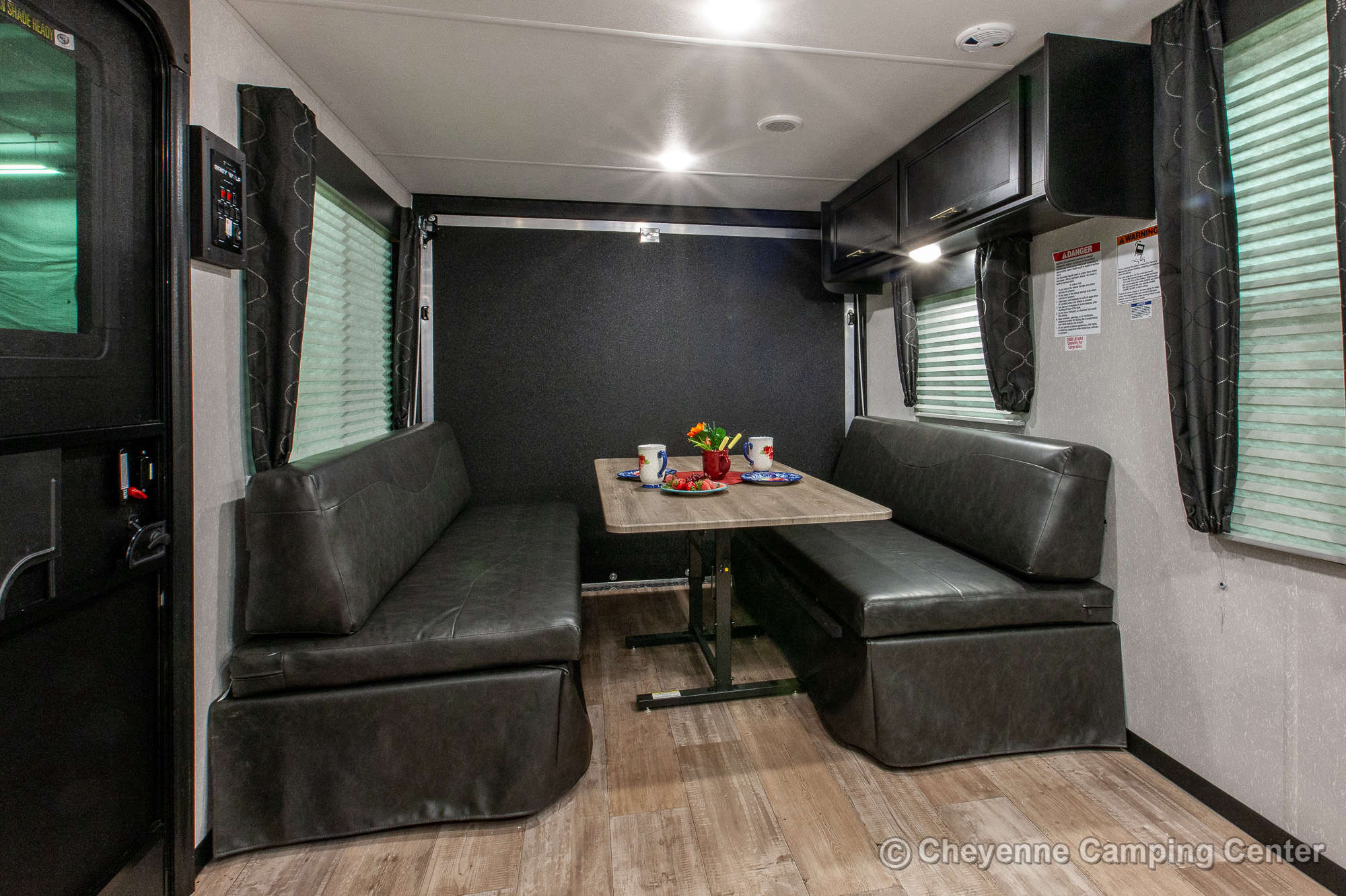 2022 Forest River Cherokee Grey Wolf 26MBRR Toy Hauler Travel Trailer Interior Image