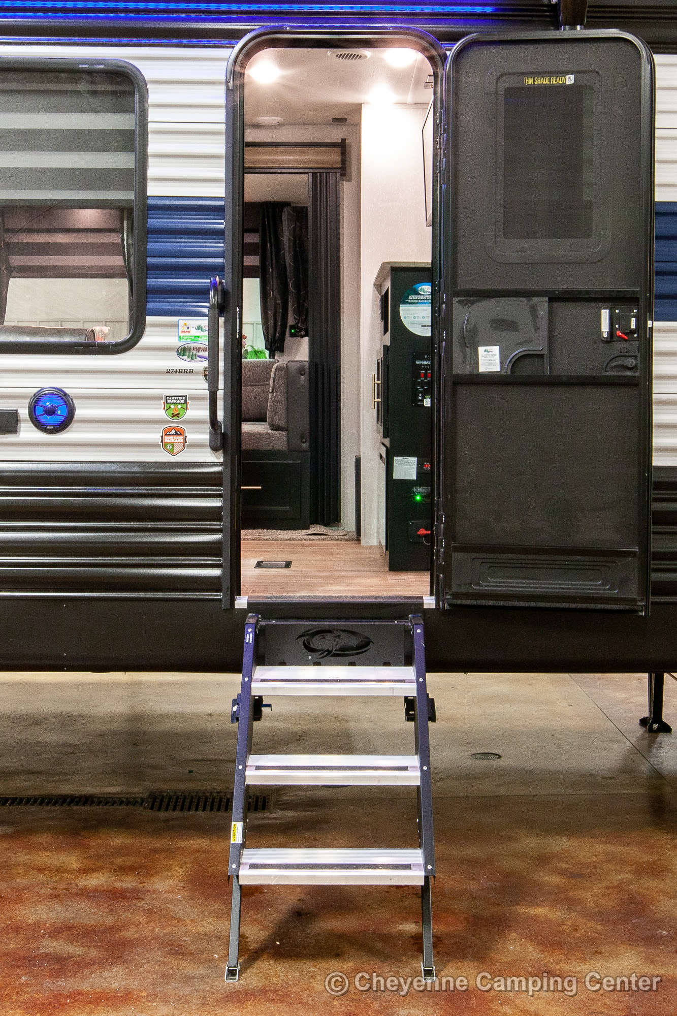 2022 Forest River Cherokee 274BRB Bunkhouse Travel Trailer Exterior Image
