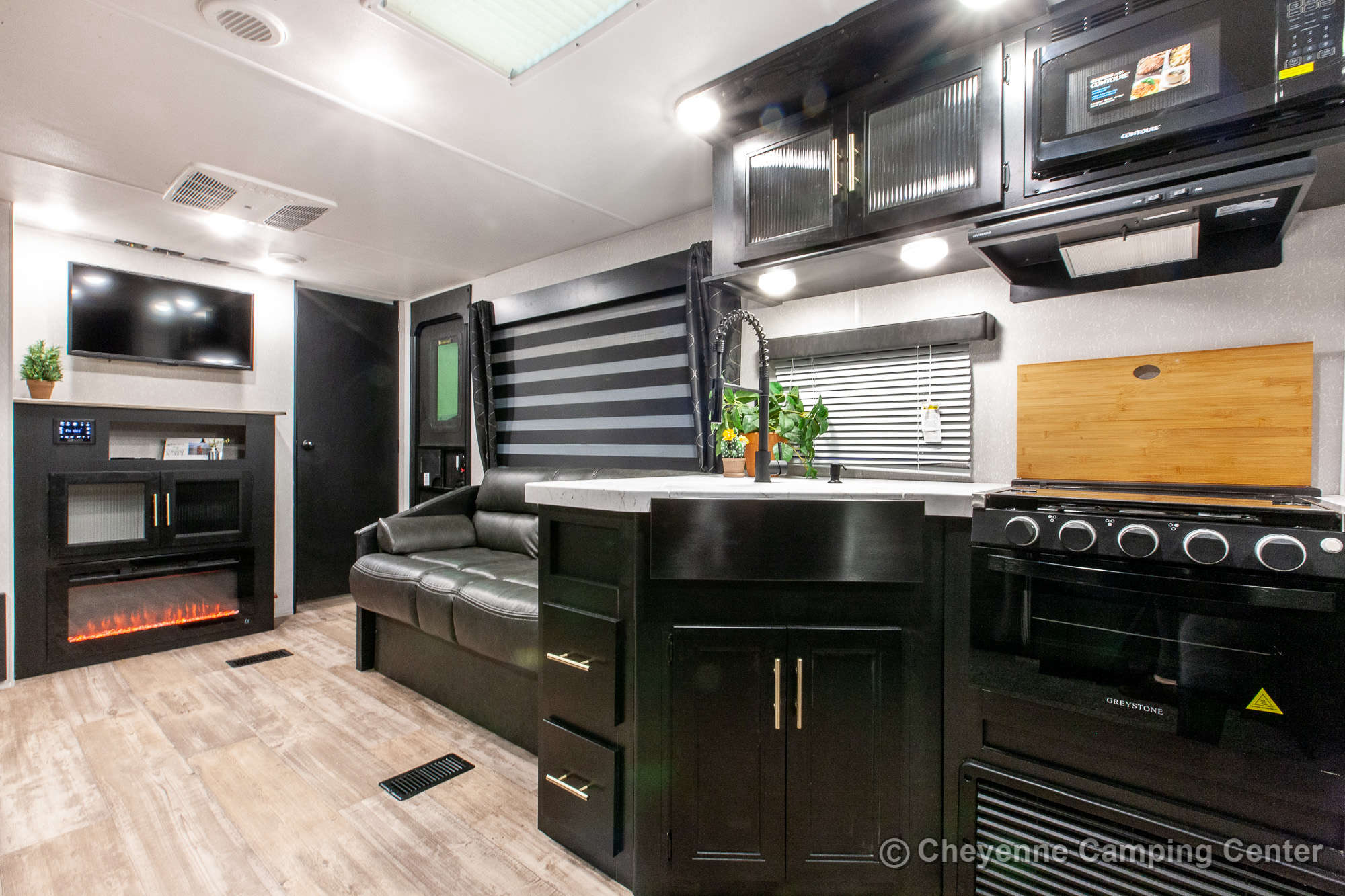 2022 Forest River Cherokee 274BRB Bunkhouse Travel Trailer Interior Image