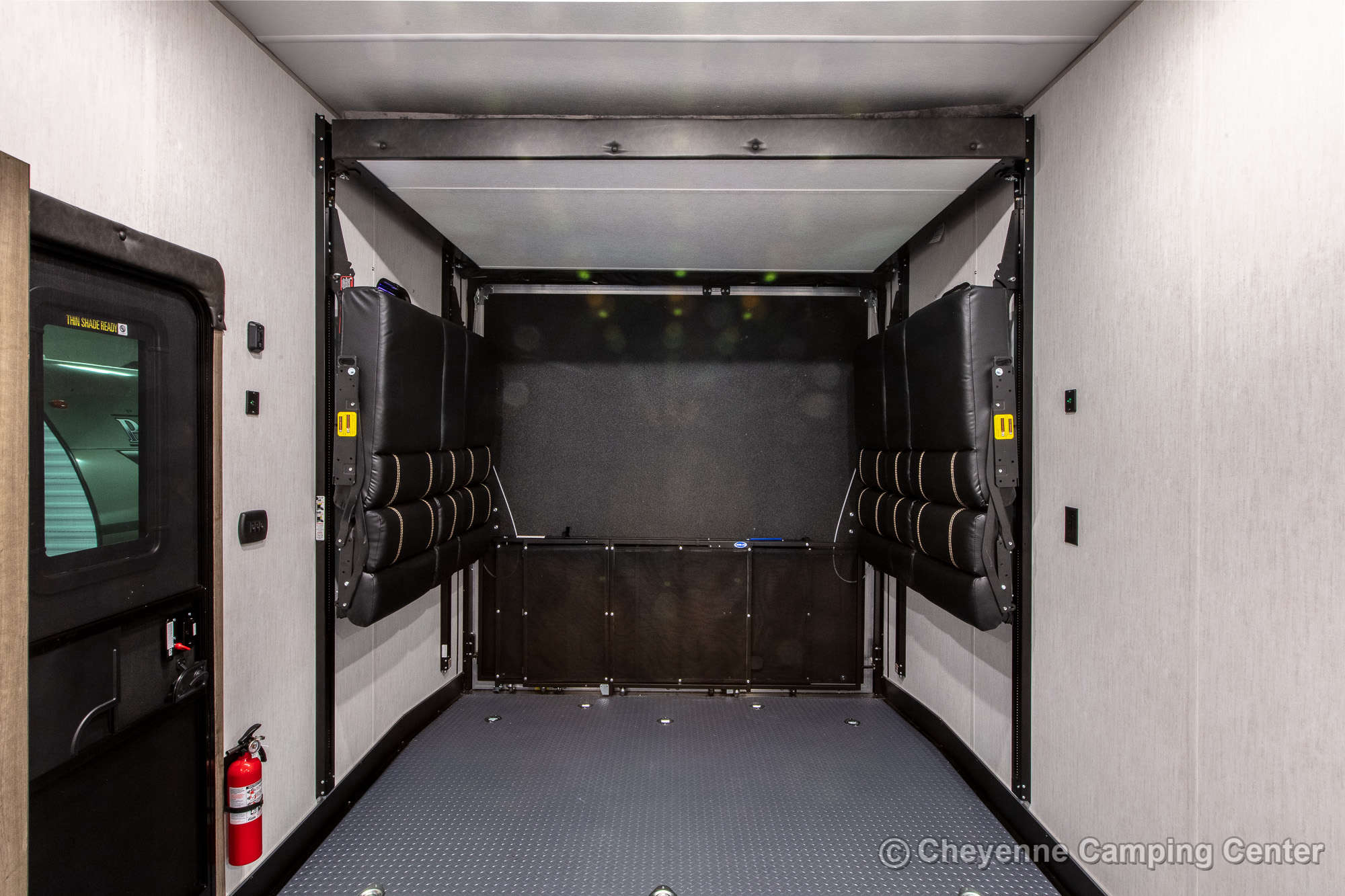 2021 Forest River Cherokee Wolf Pack 365PACK16 Bunkhouse Toy Hauler Fifth Wheel Interior Image