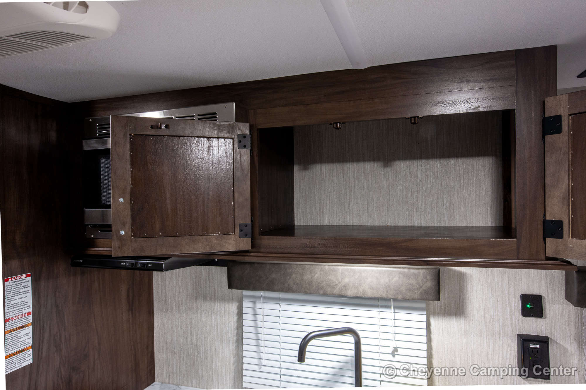 2021 Forest River Cherokee Wolf Pup 14CC Travel Trailer Interior Image