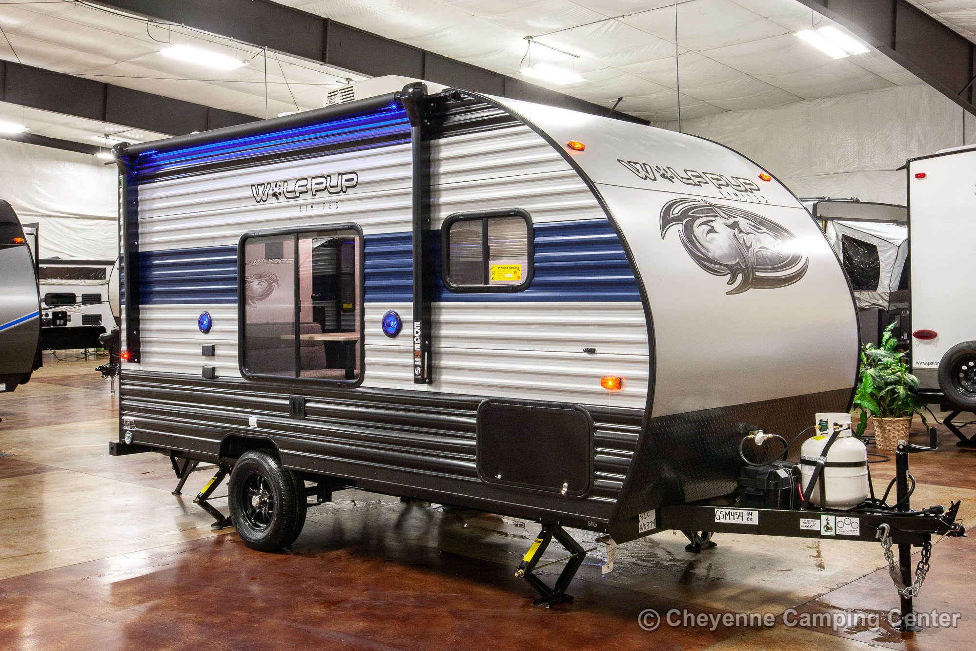 2021 Forest River Cherokee Wolf Pup 14CC Travel Trailer