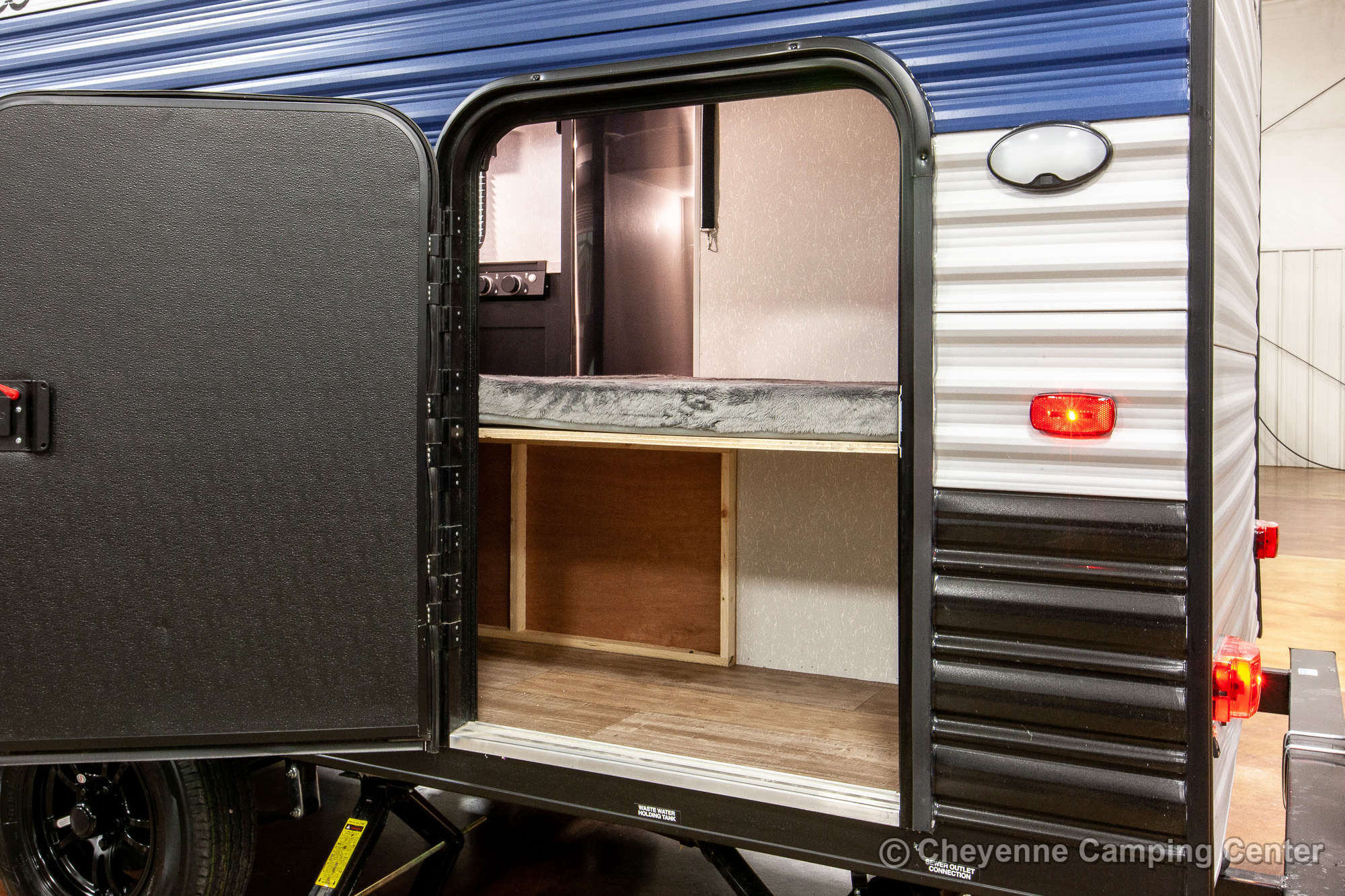 2022 Forest River Cherokee Wolf Pup 16BHS Bunkhouse Travel Trailer Exterior Image