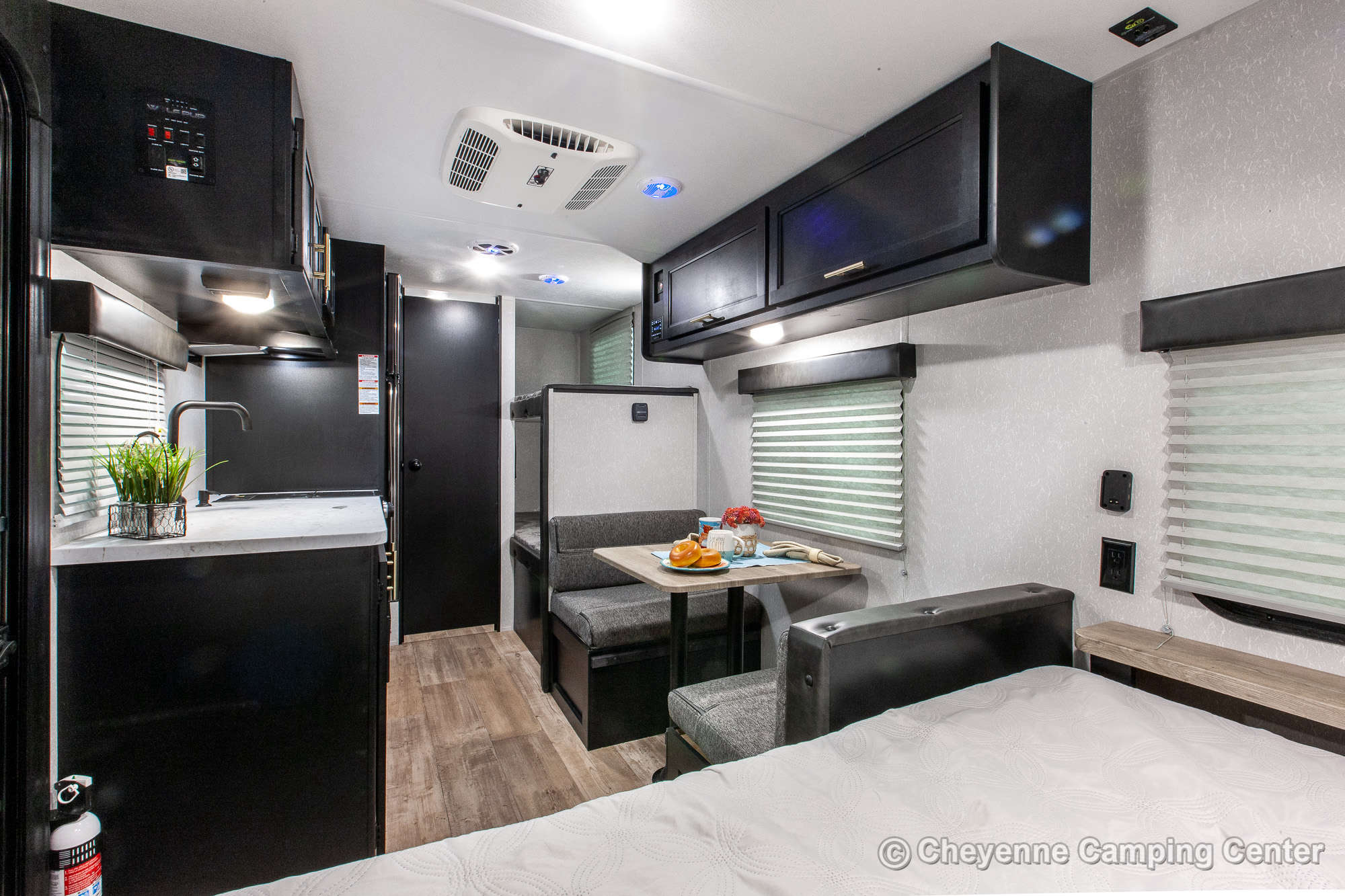 2022 Forest River Cherokee Wolf Pup 16BHS Bunkhouse Travel Trailer Interior Image