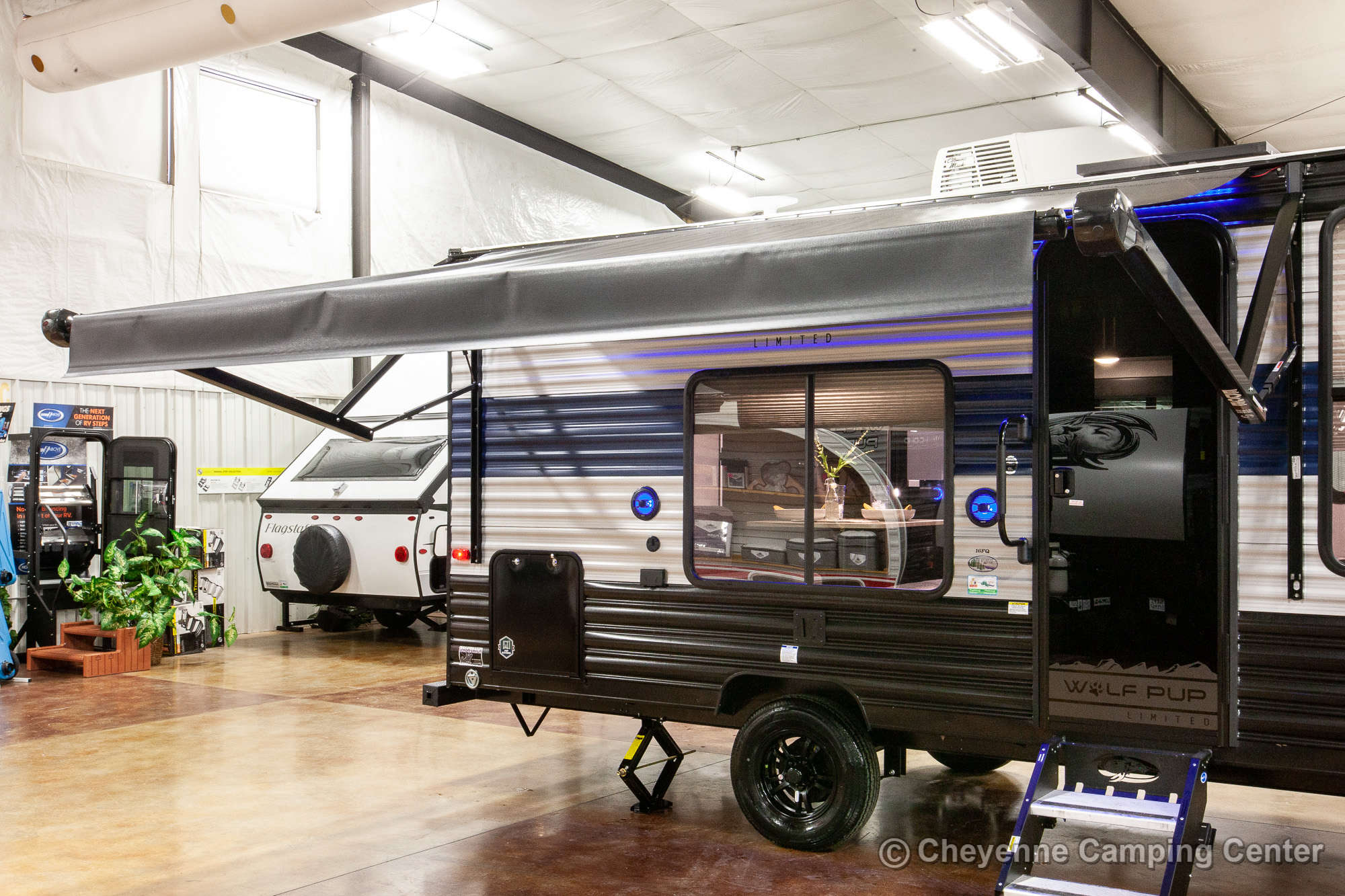 2021 Forest River Cherokee Wolf Pup 16FQ Travel Trailer Exterior Image