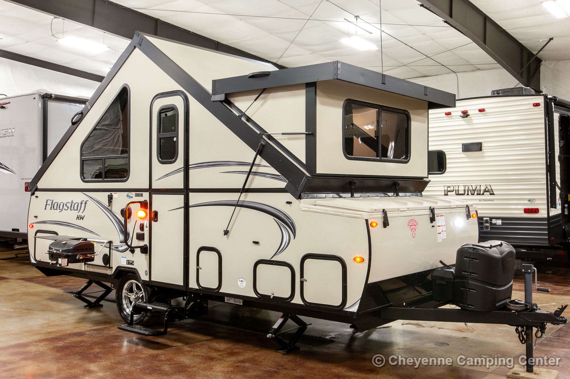 2019 Forest River Flagstaff High Wall T21TBHW Folding Camper