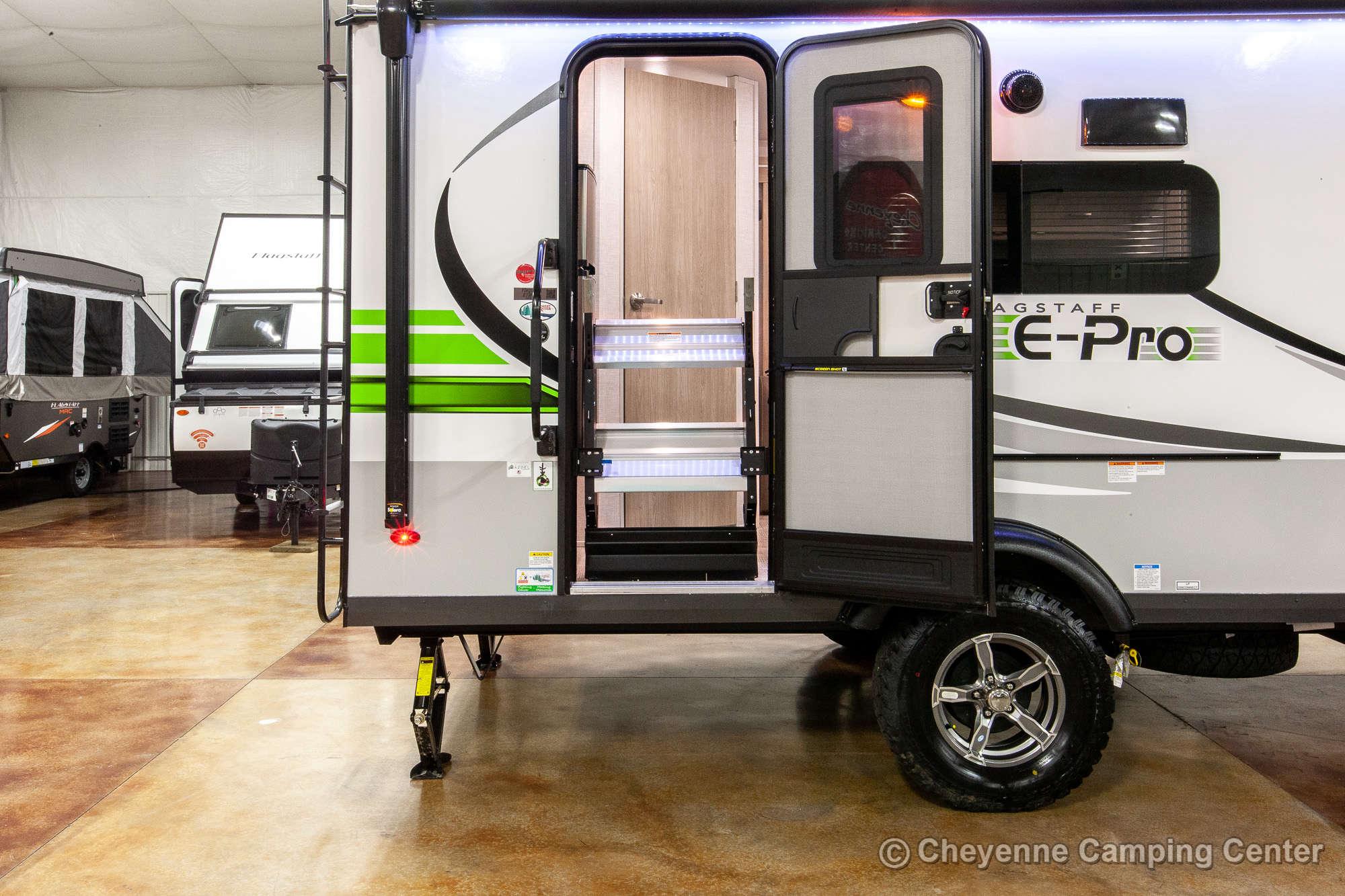 2021 Forest River Flagstaff E-Pro E19FBS Travel Trailer Exterior Image