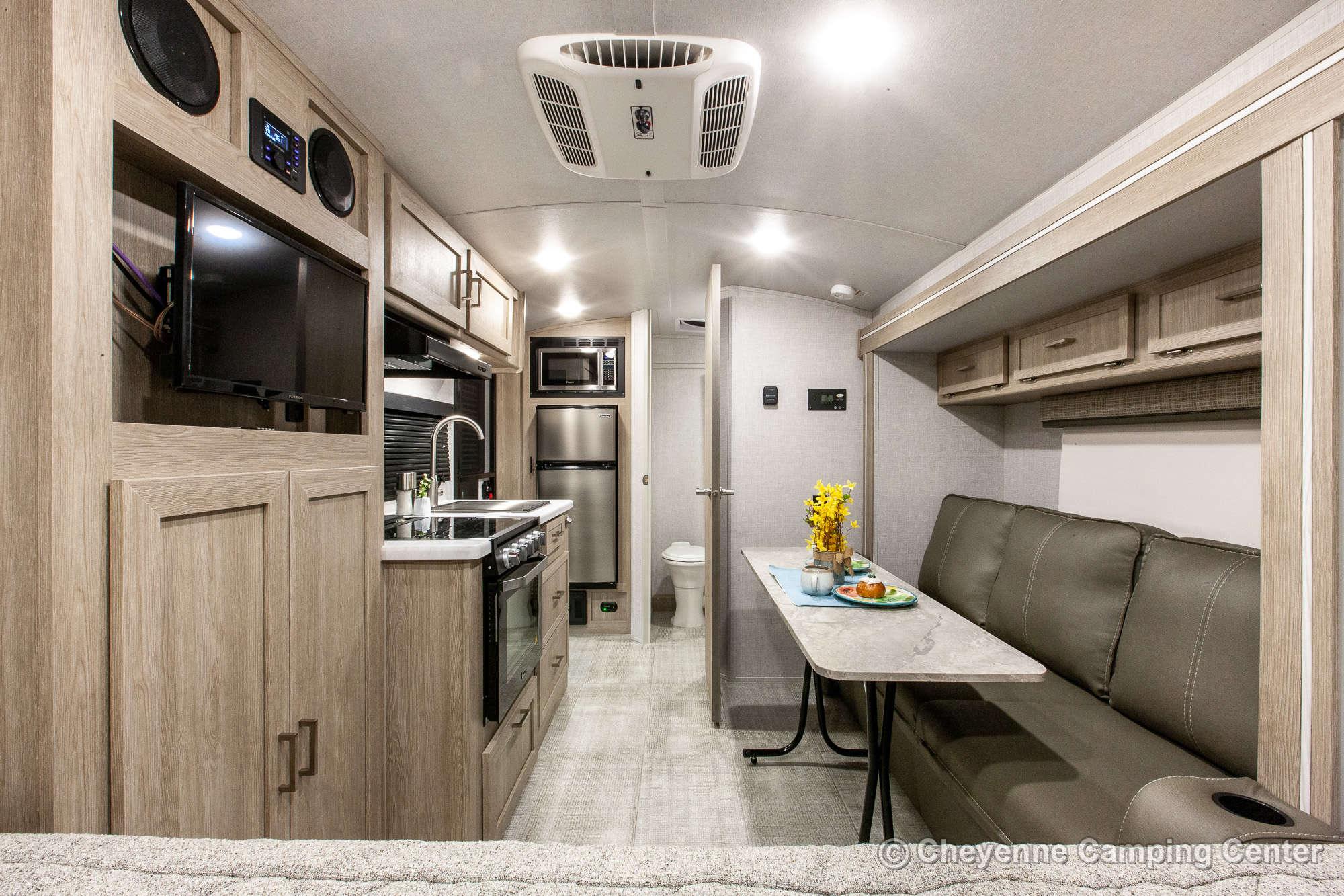 2021 Forest River Flagstaff E-Pro E19FBS Travel Trailer Interior Image