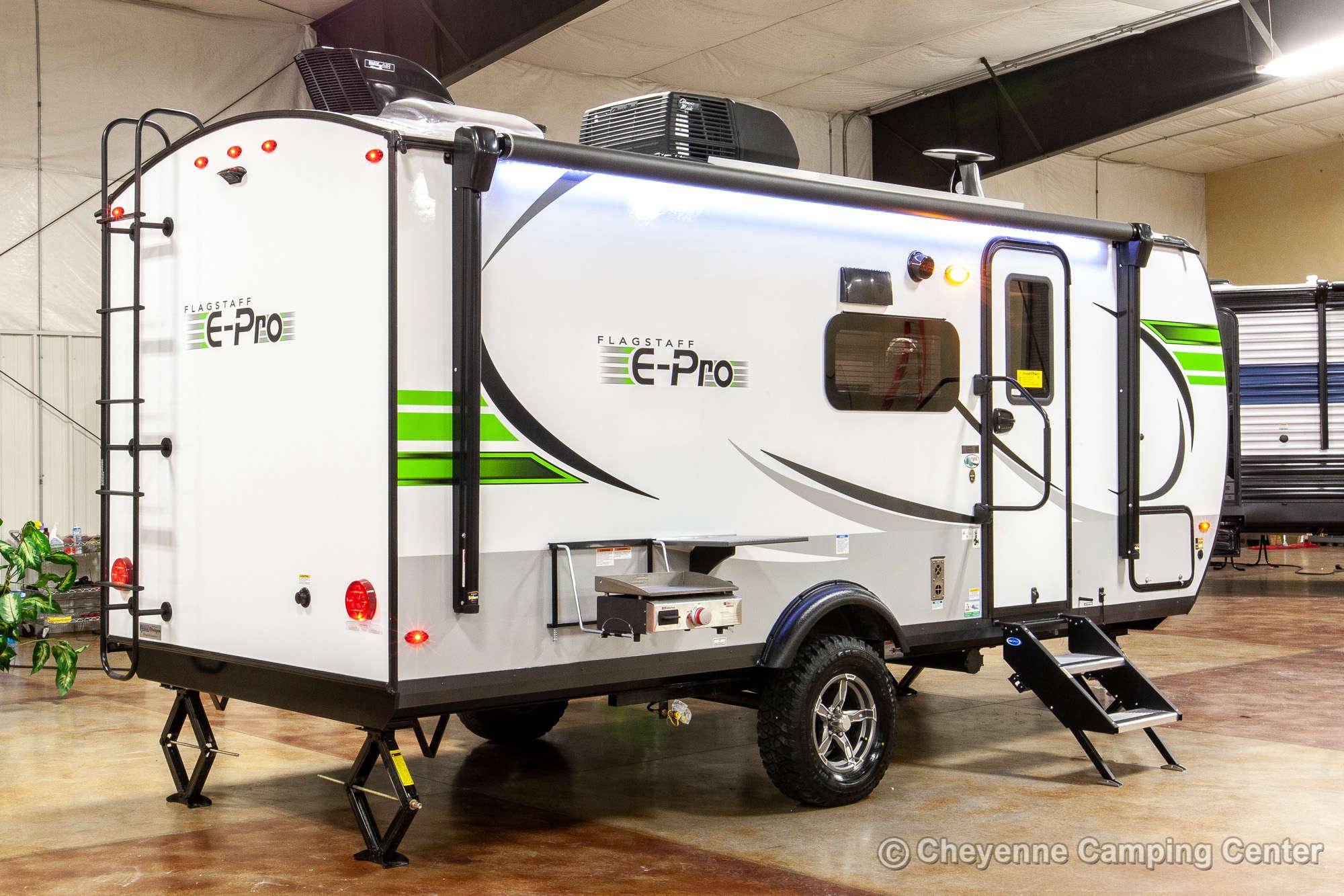 2022 Forest River Flagstaff E-Pro E20BHS Bunkhouse Travel Trailer Exterior Image