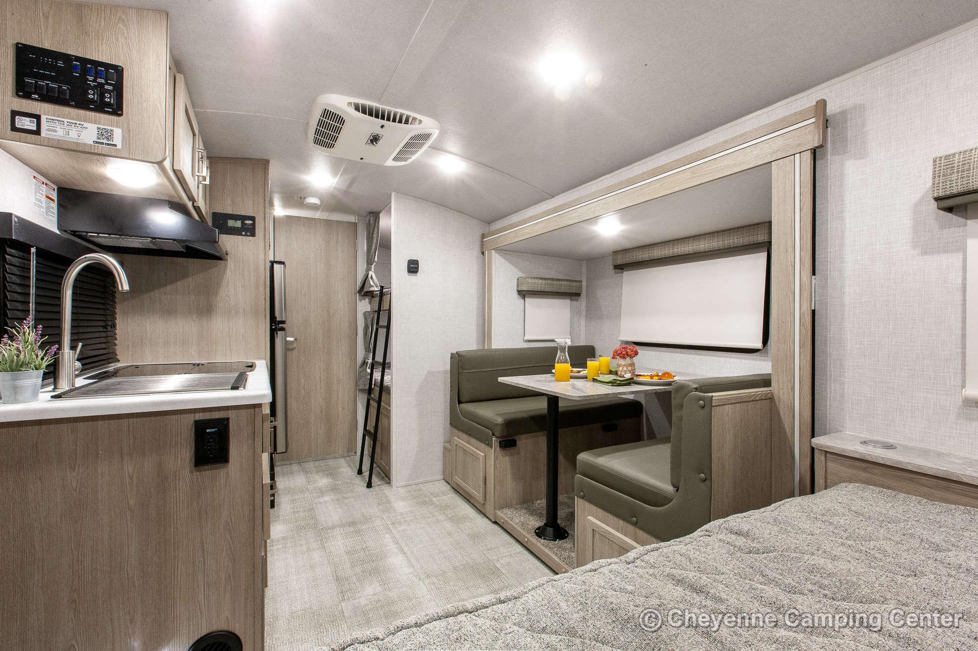 2022 Forest River Flagstaff E-Pro E20BHS Bunkhouse Travel Trailer Interior Image
