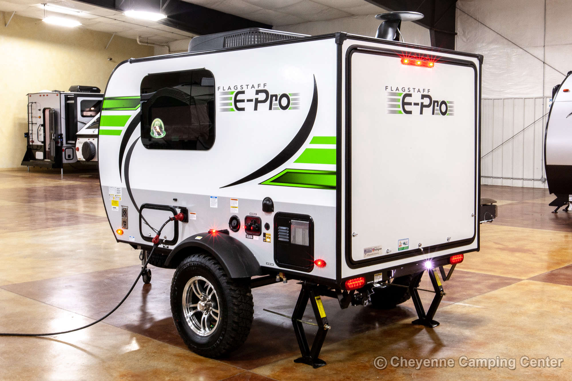2021 Forest River Flagstaff E-Pro E12SRK Travel Trailer Exterior Image
