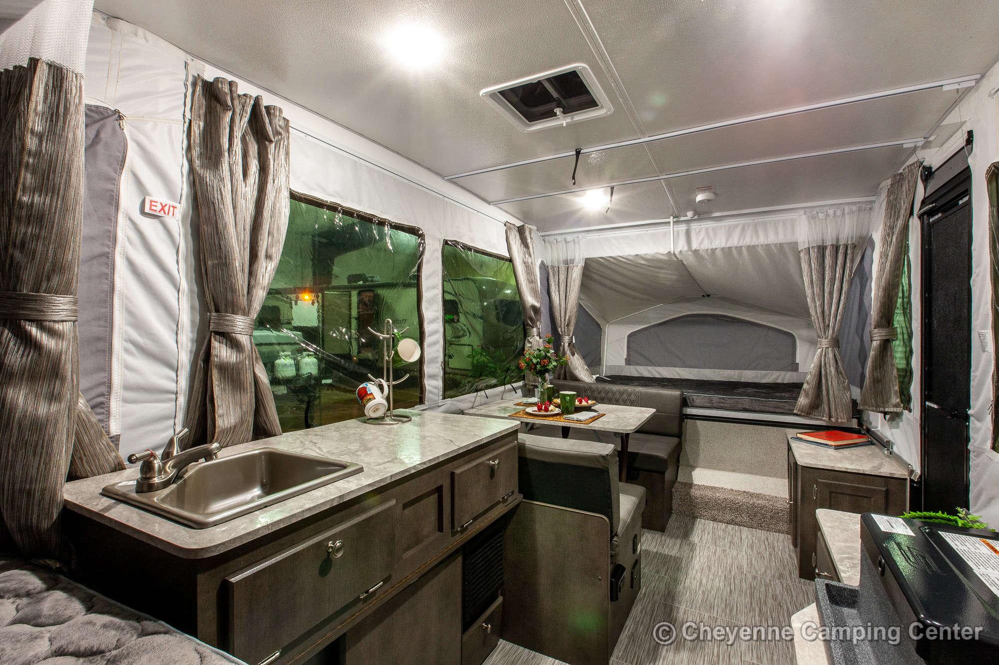 2021 Forest River Flagstaff MAC 206LTD Folding Camper Interior Image