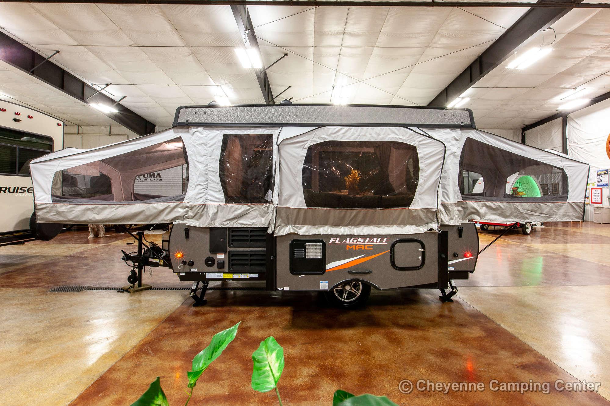 2021 Forest River Flagstaff MAC 228D Folding Camper Exterior Image