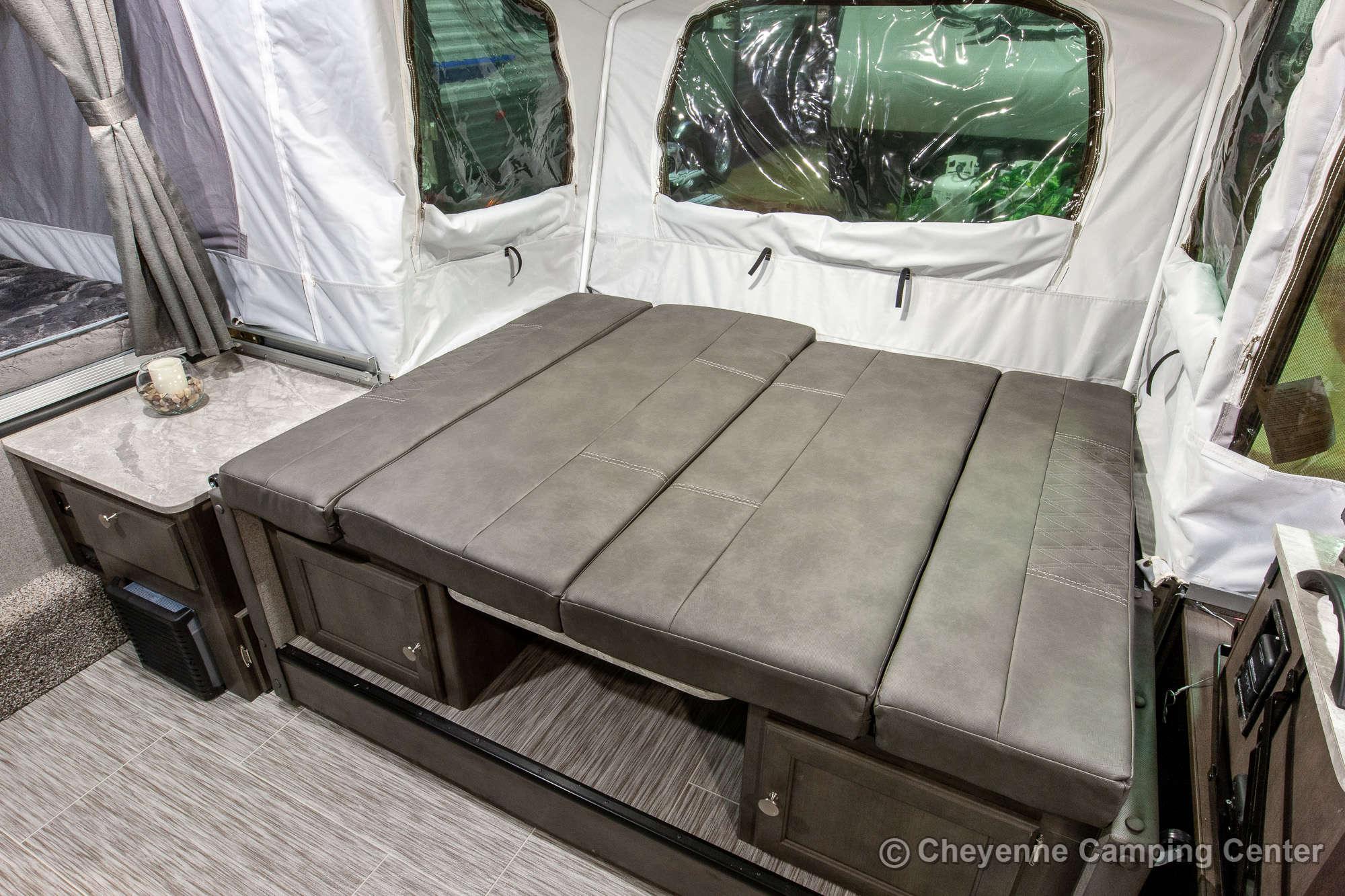 2021 Forest River Flagstaff MAC 228D Folding Camper Interior Image