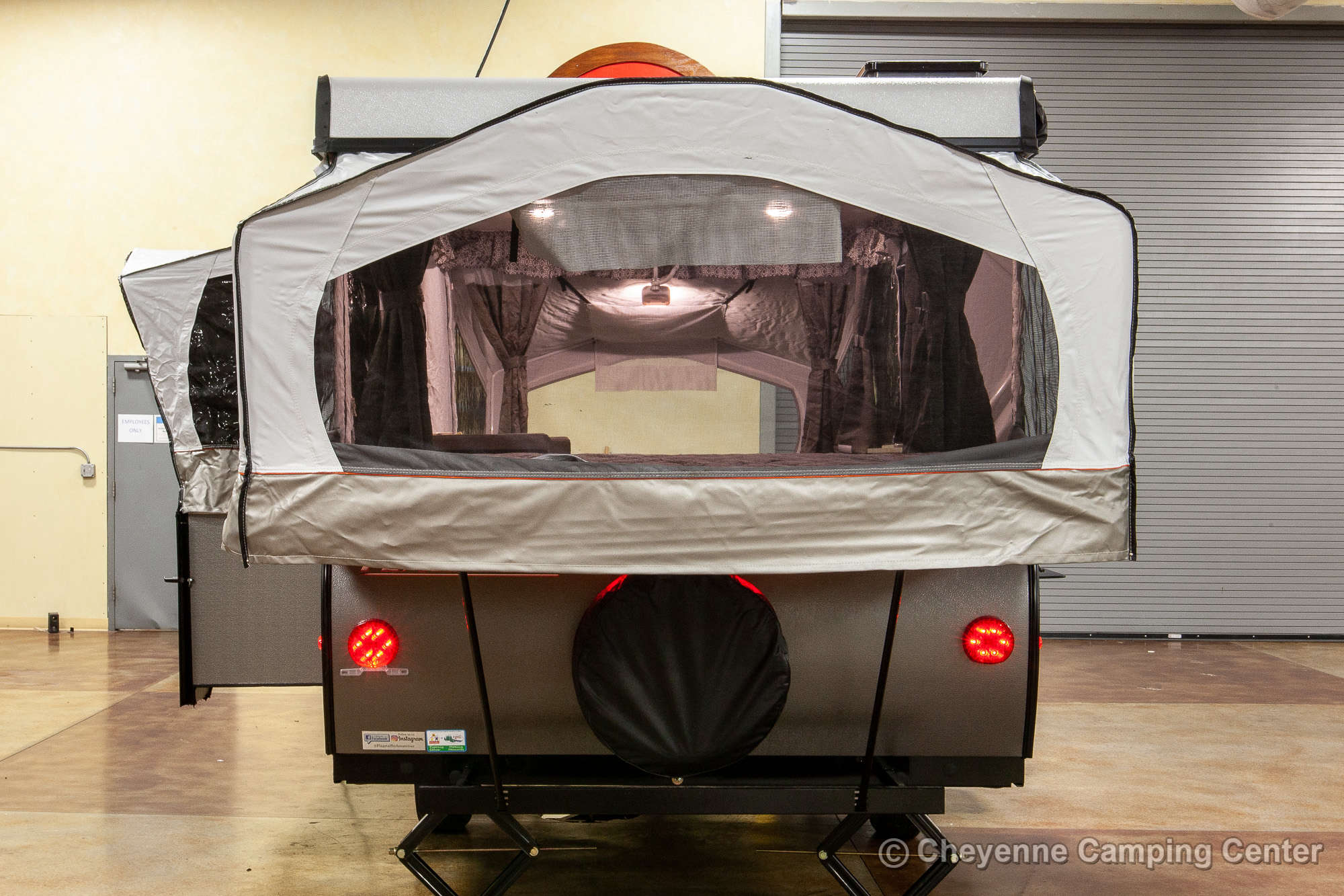 2021 Forest River Flagstaff MAC 425M Folding Camper Exterior Image