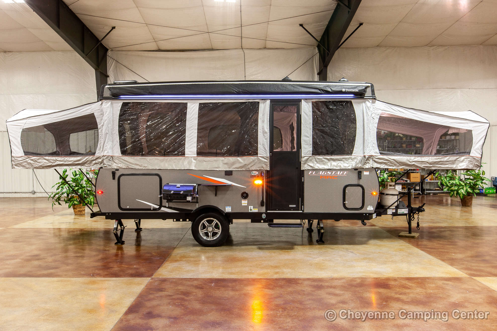 2021 Forest River Flagstaff MAC 627M Folding Camper Exterior Image