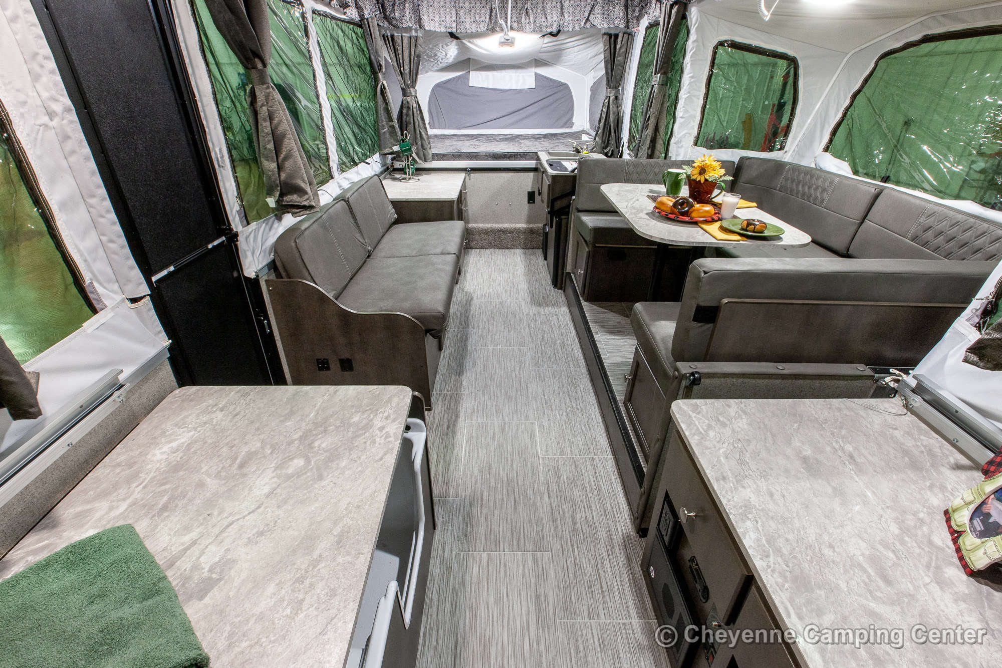 2021 Forest River Flagstaff MAC 627M Folding Camper Interior Image