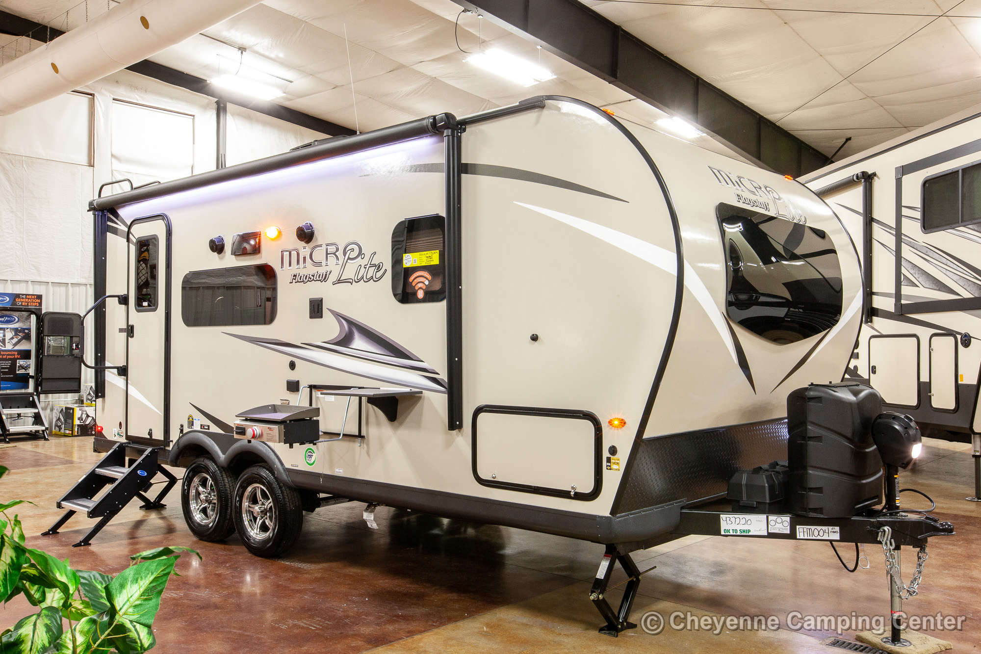 2021 Forest River Flagstaff Micro Lite 21FBRS Travel Trailer Exterior Image