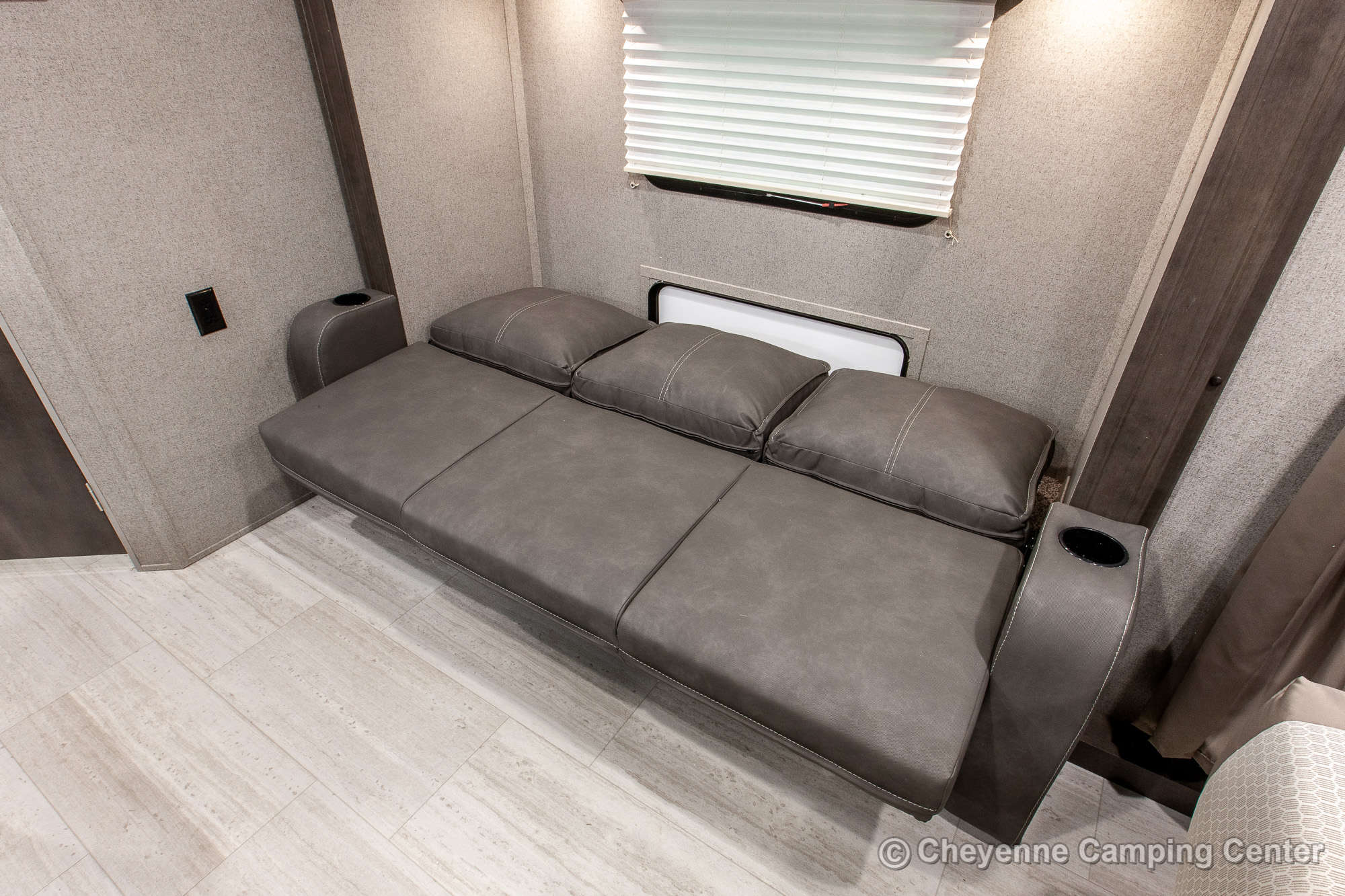 2021 Forest River Flagstaff Micro Lite 21FBRS Travel Trailer Interior Image