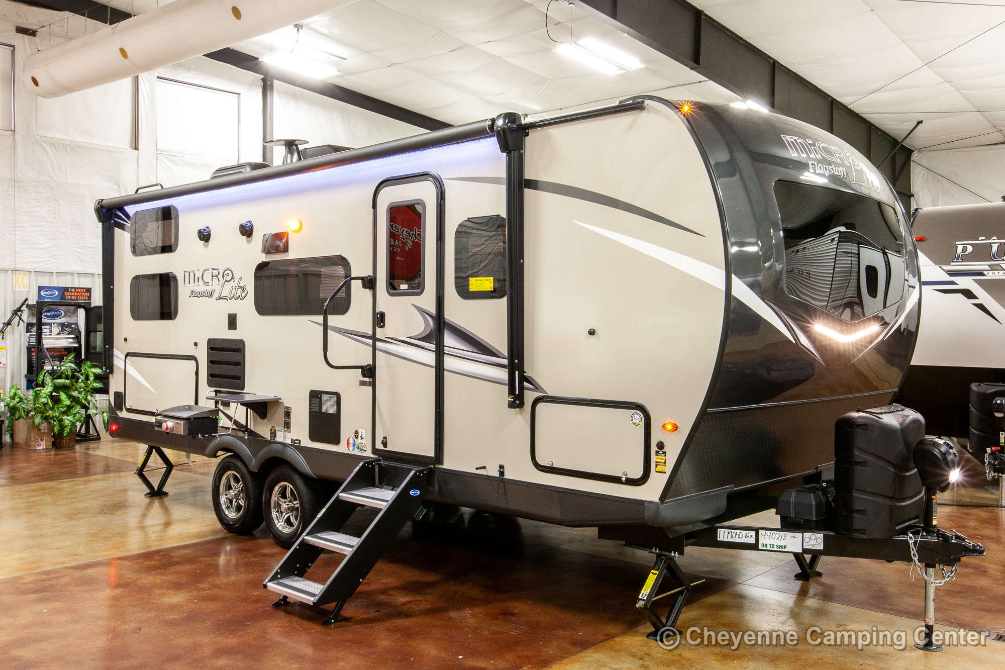 2021 Forest River Flagstaff Micro Lite 25BRDS Bunkhouse Travel Trailer