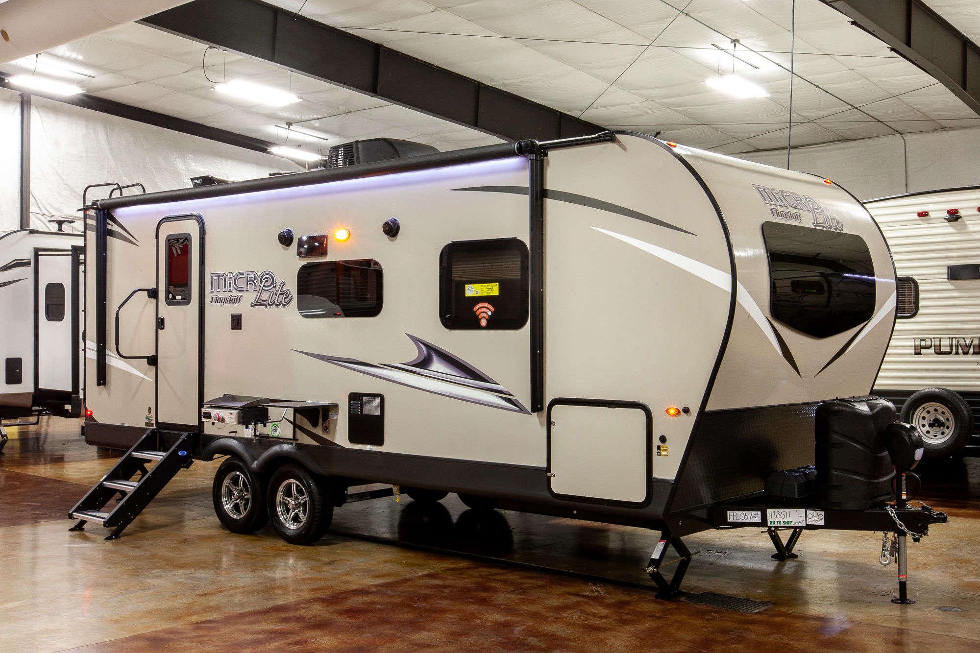 2021 Forest River Flagstaff Micro Lite 25FBLS Travel Trailer