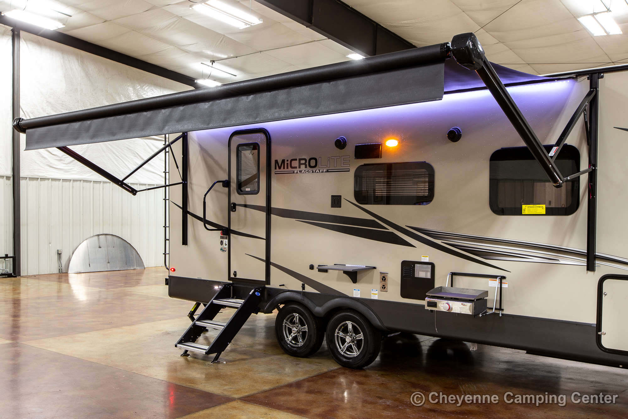 2022 Forest River Flagstaff Micro Lite 25FBLS Travel Trailer Exterior Image