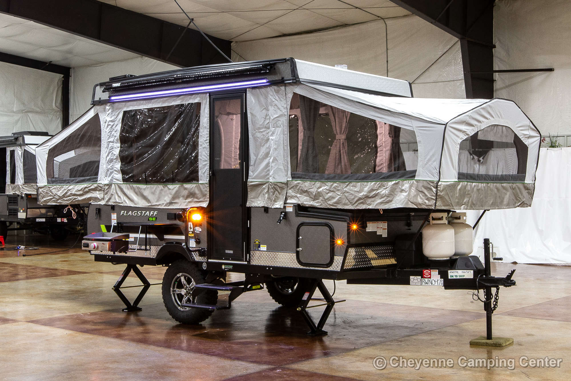 2022 Forest River Flagstaff Sports Enthusiast 206STSE Folding Camper