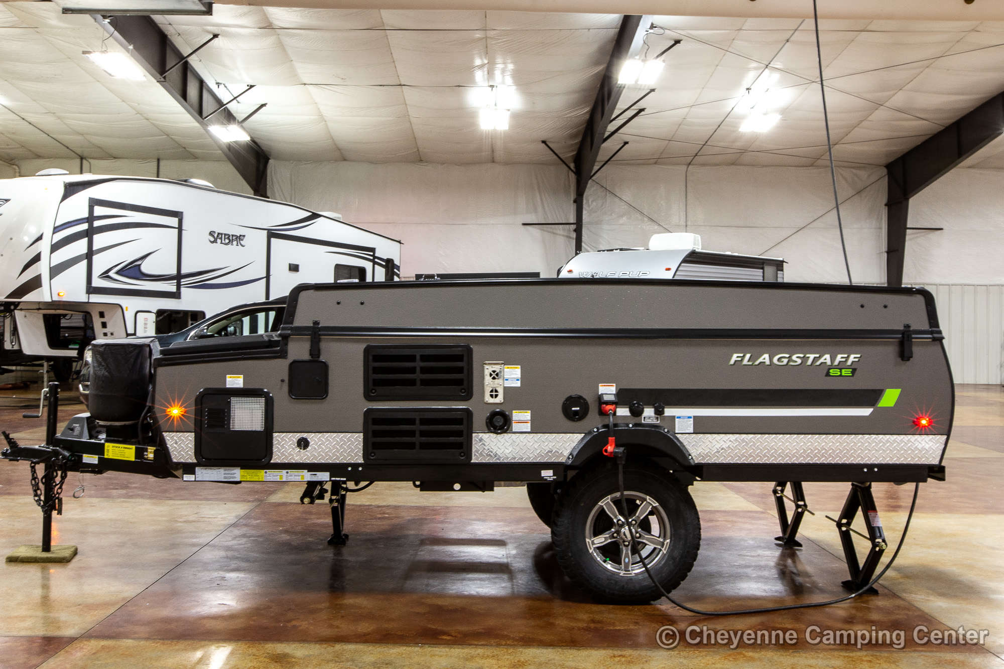 2022 Forest River Flagstaff Sports Enthusiast 206STSE Folding Camper Exterior Image