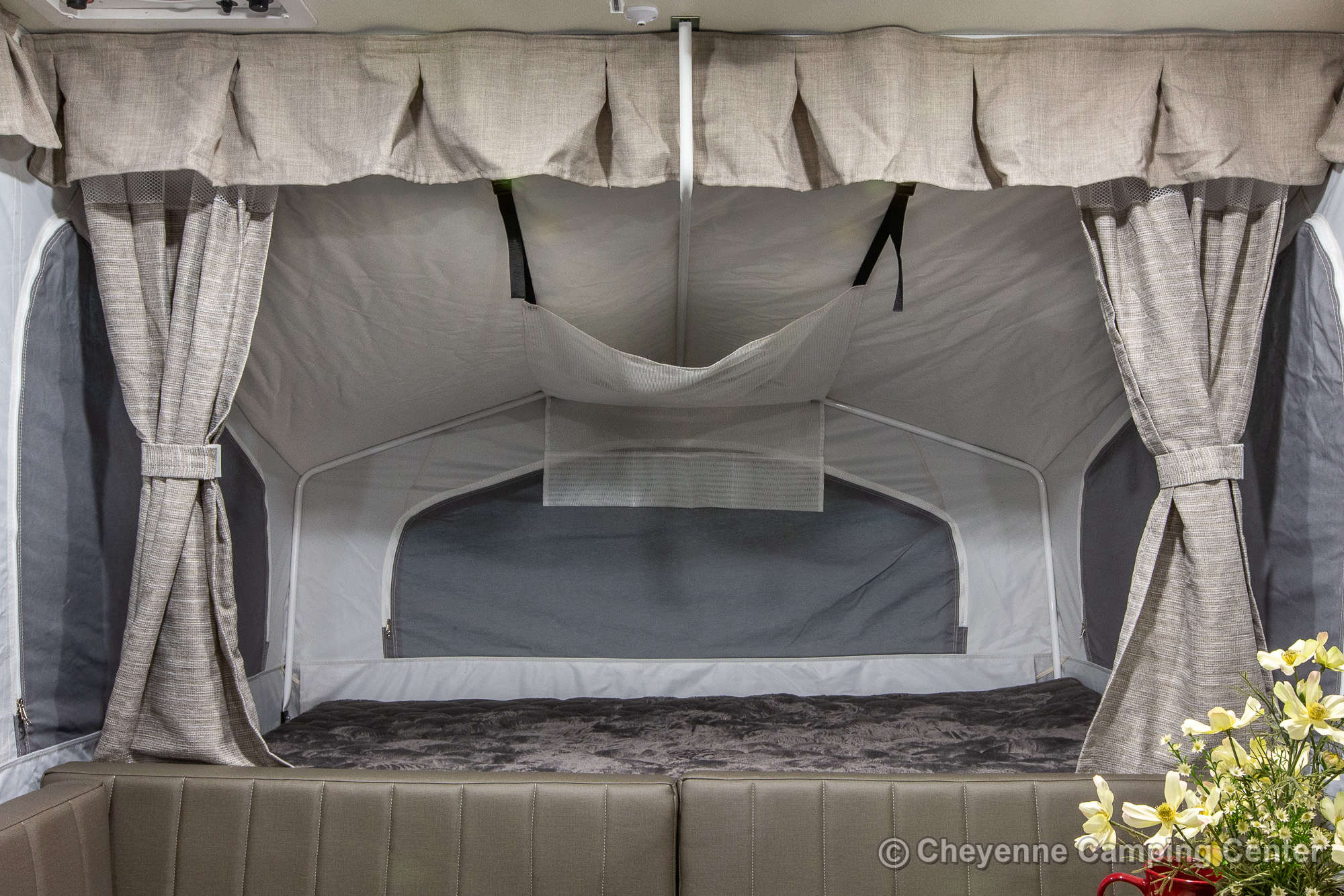 2022 Forest River Flagstaff Sports Enthusiast 206STSE Folding Camper Interior Image