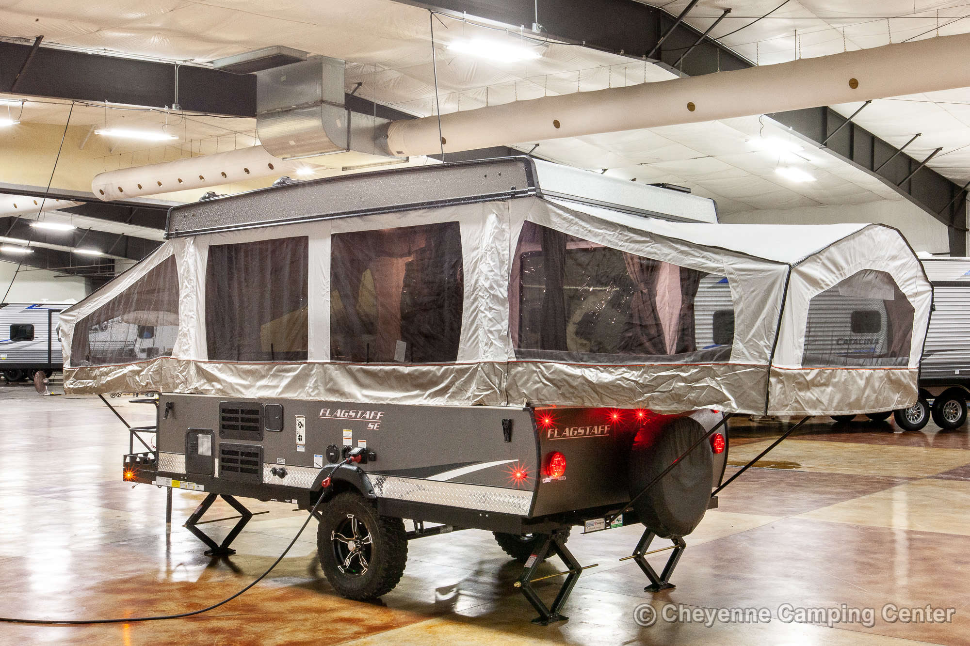 2021 Forest River Flagstaff Sports Enthusiast 228BHSE Folding Camper Exterior Image