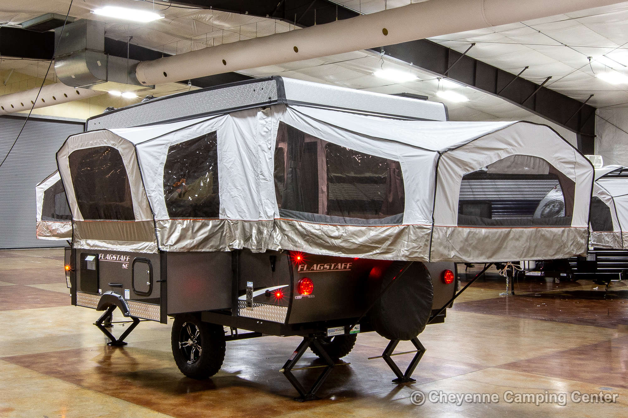 2022 Forest River Flagstaff Sports Enthusiast 228SE Folding Camper Exterior Image