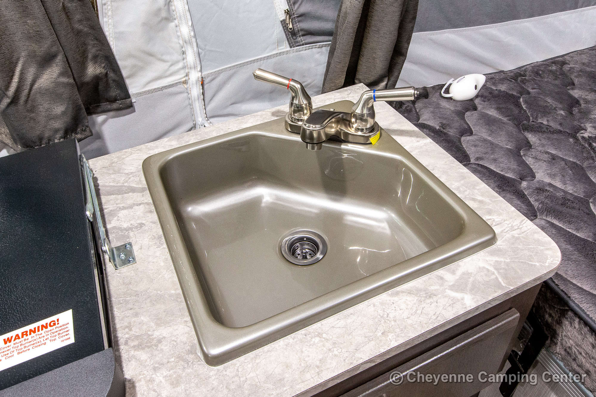 2022 Forest River Flagstaff Sports Enthusiast 228SE Folding Camper Interior Image