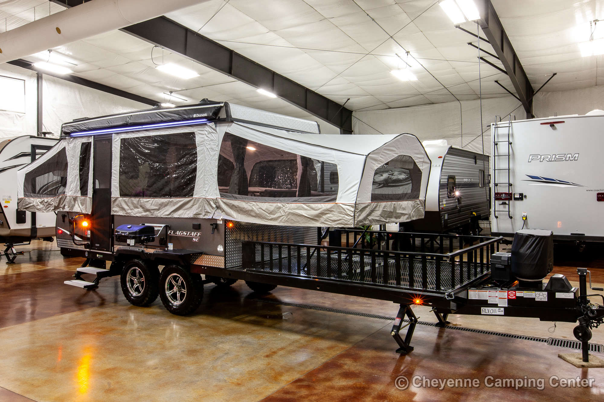 2020 Forest River Flagstaff Sports Enthusiast 28TSCSE Toy Hauler Folding Camper
