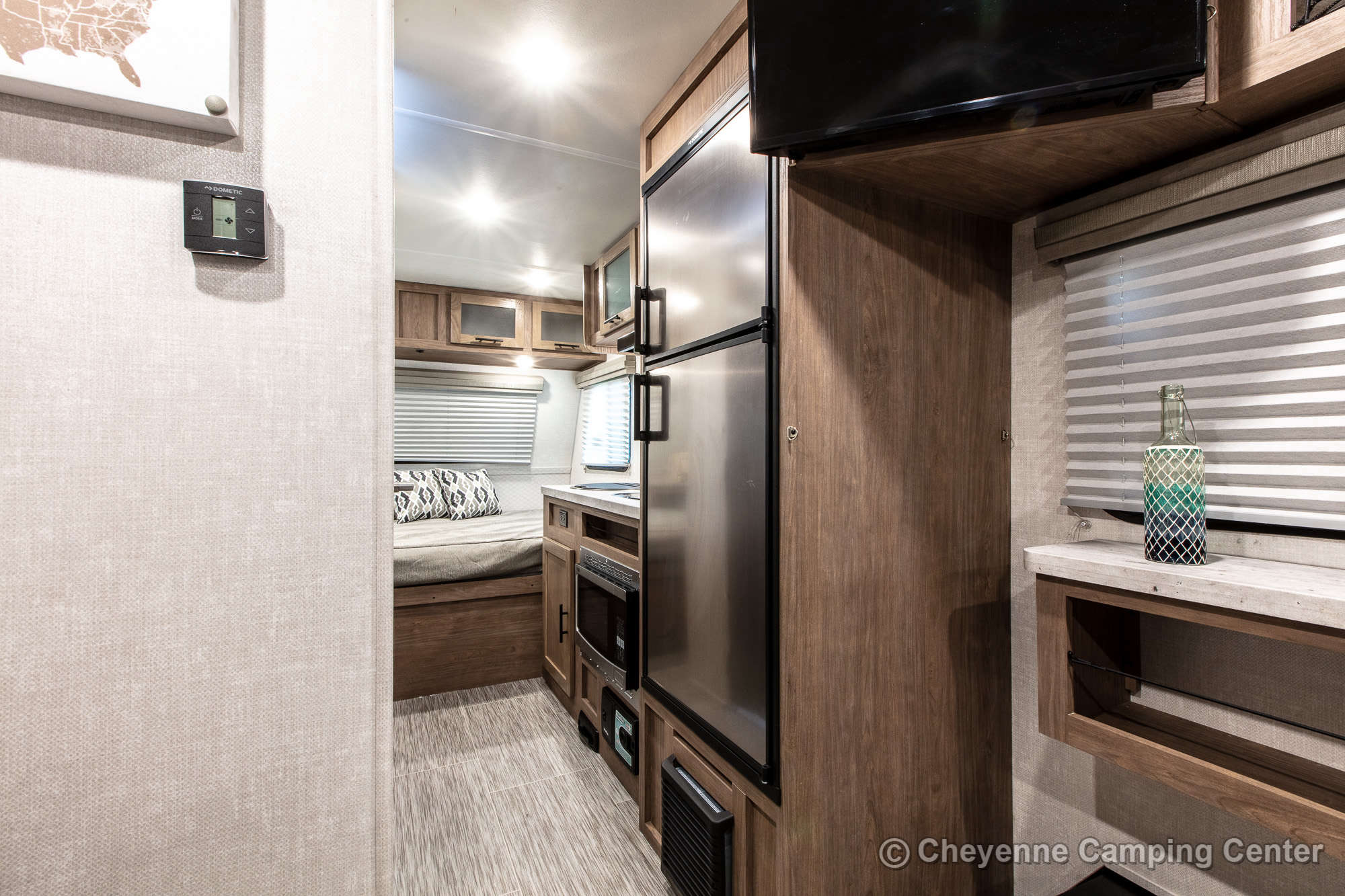2021 Forest River No Boundaries 19.1 Toy Hauler Travel Trailer Interior Image