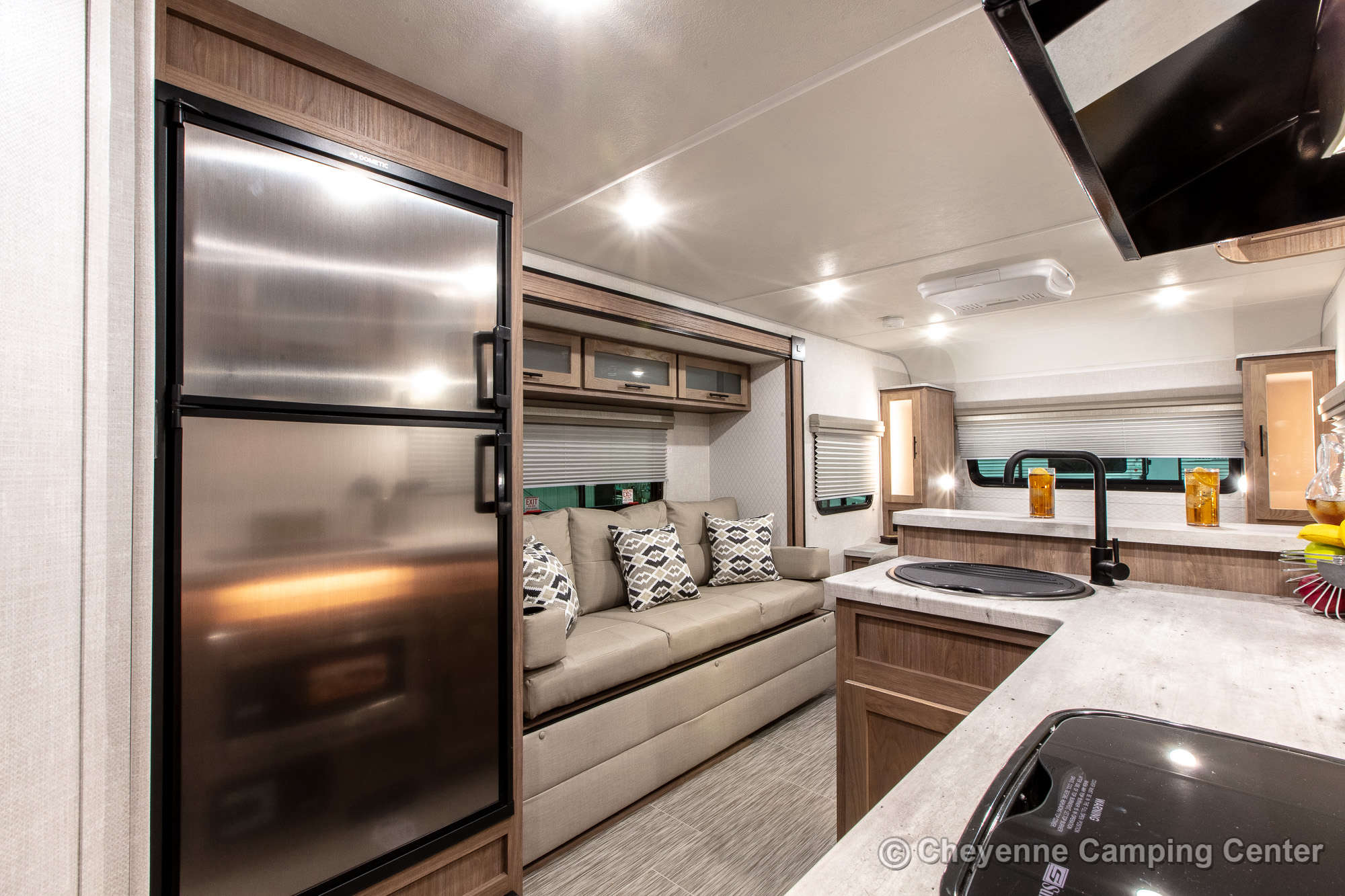 2021 Forest River No Boundaries 19.6 Travel Trailer Interior Image