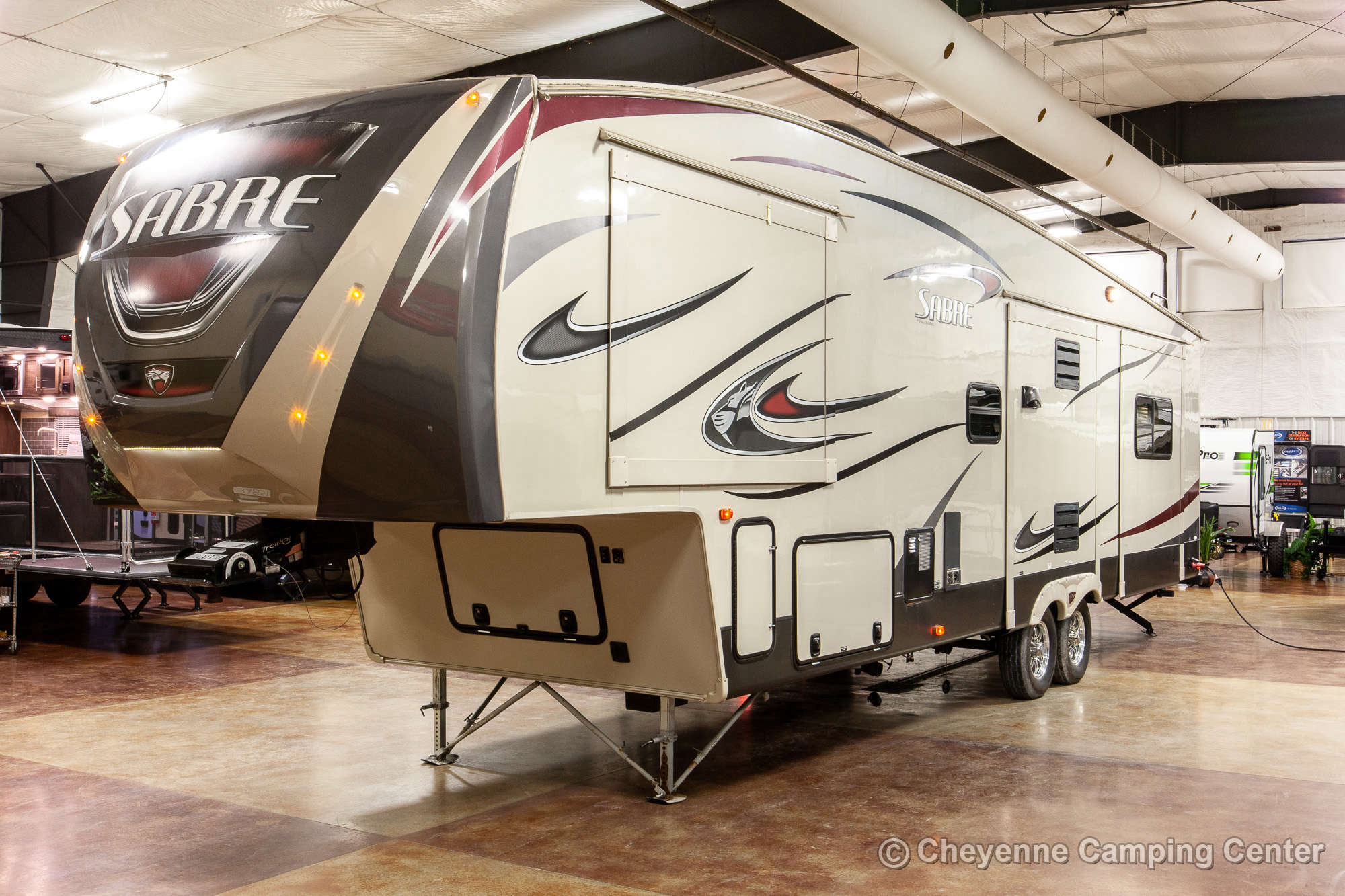 2015 Forest River Sabre 34RLQS-6 Fifth Wheel Exterior Image
