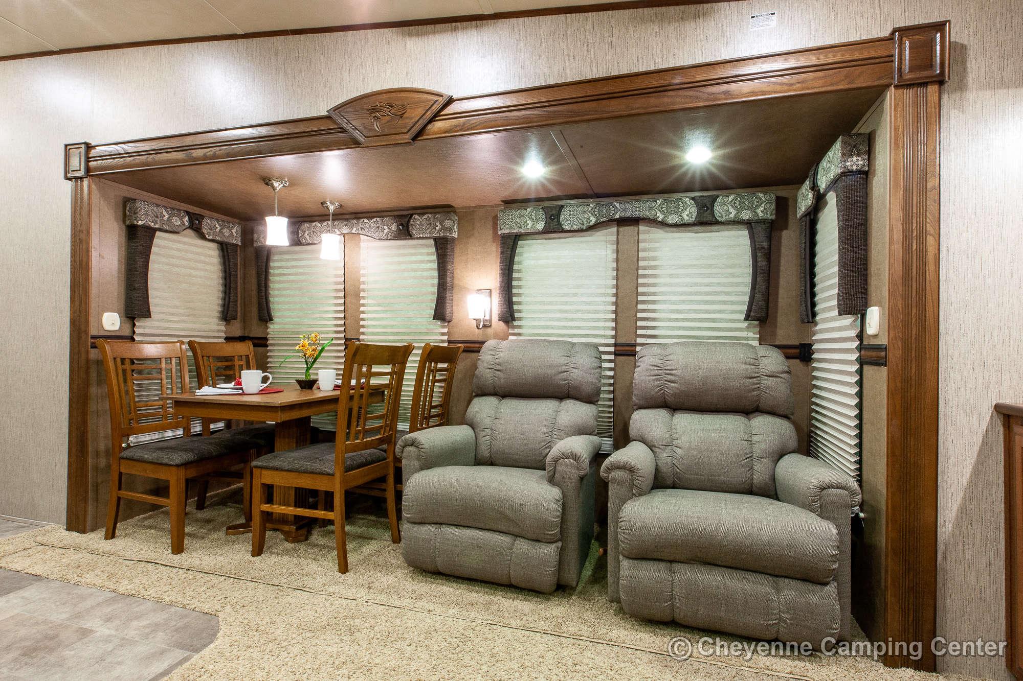 2015 Forest River Sabre 34RLQS-6 Fifth Wheel Interior Image