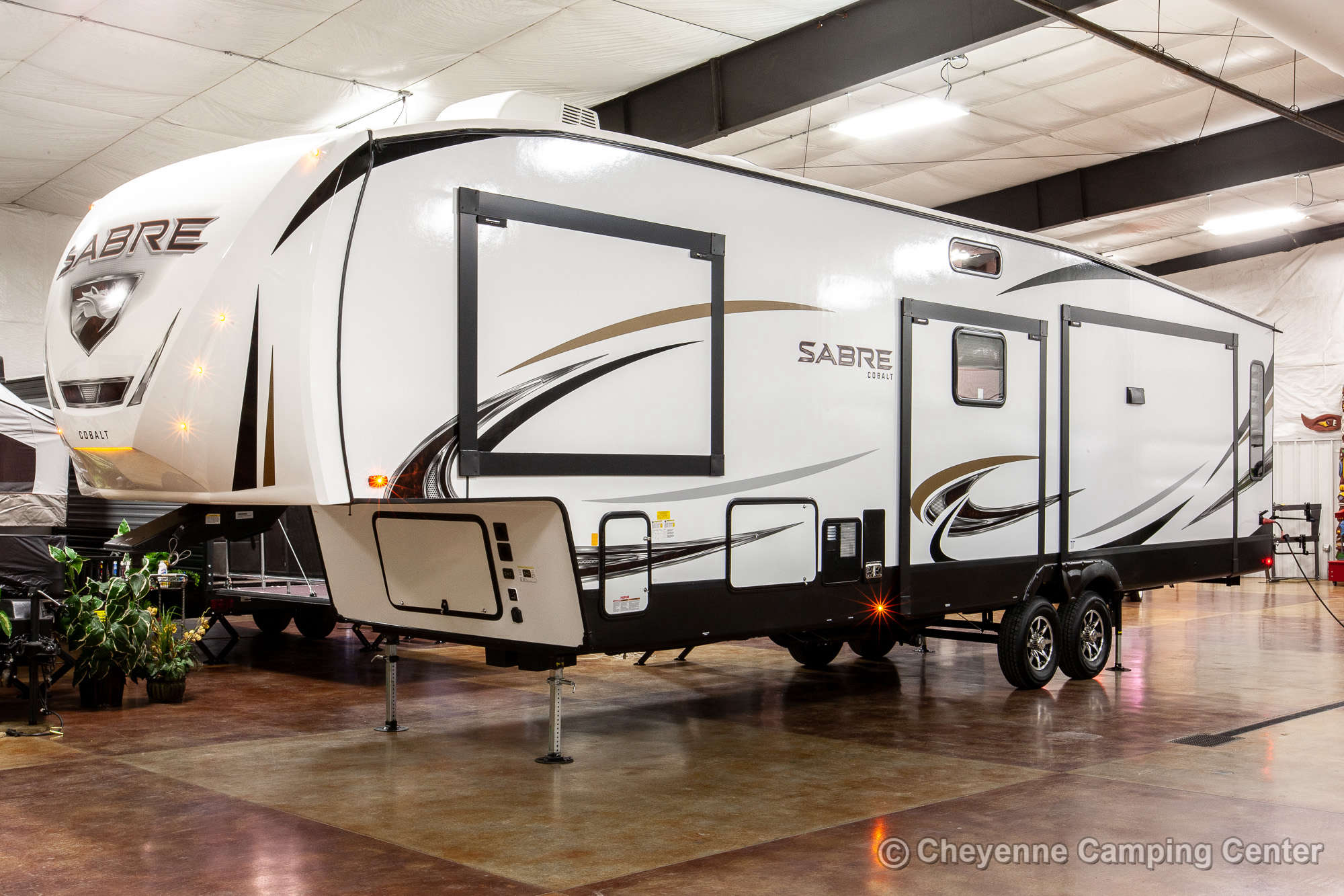2021 Forest River Sabre 36BHQ Bunkhouse Fifth Wheel Exterior Image