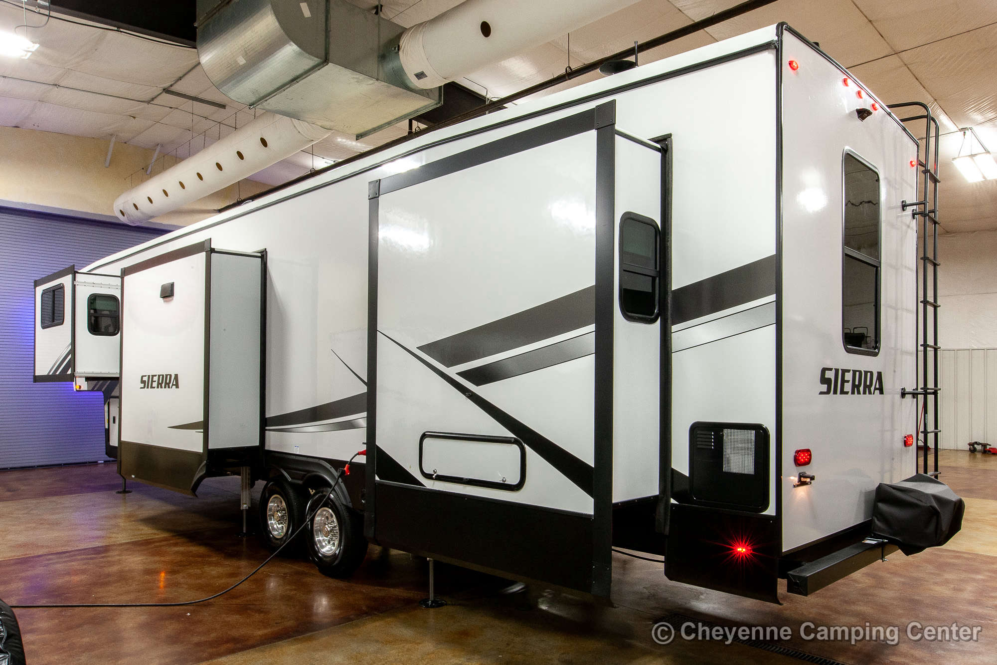 2021 Forest River Sierra 379FLOK Fifth Wheel Exterior Image