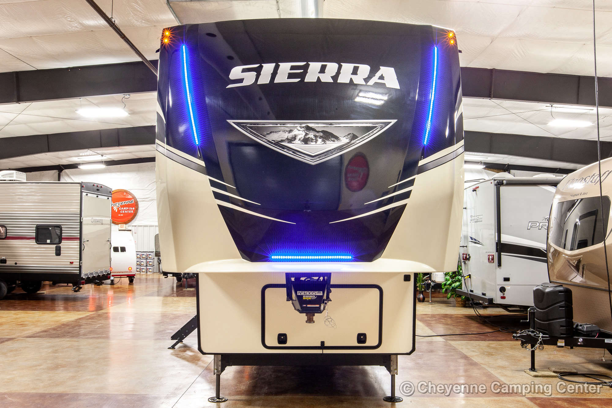 2021 Forest River Sierra 39BARK Fifth Wheel Exterior Image