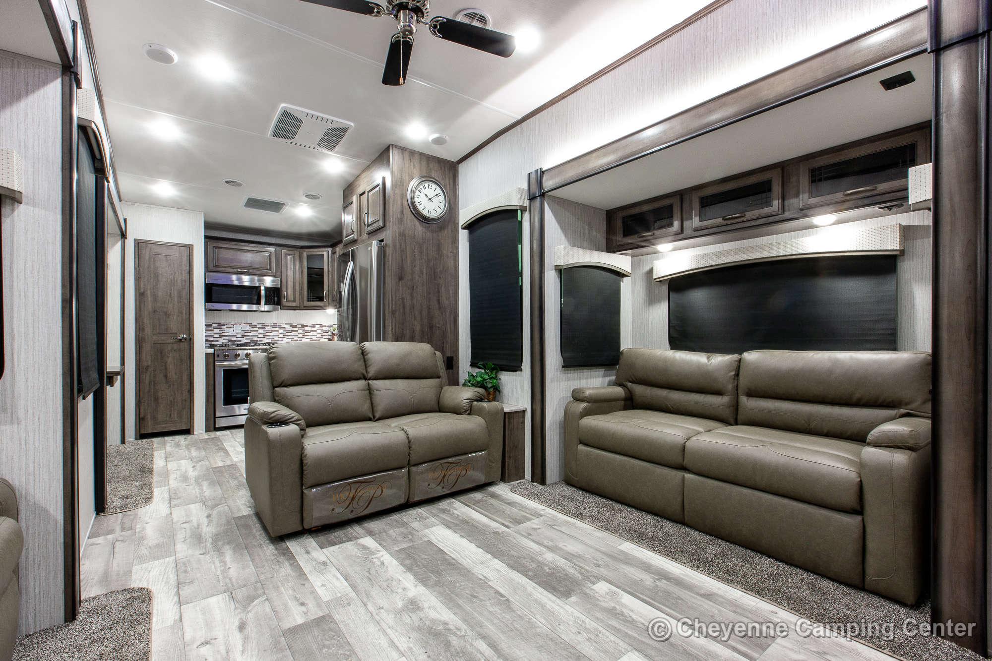 2021 Forest River Sierra 39BARK Fifth Wheel Interior Image