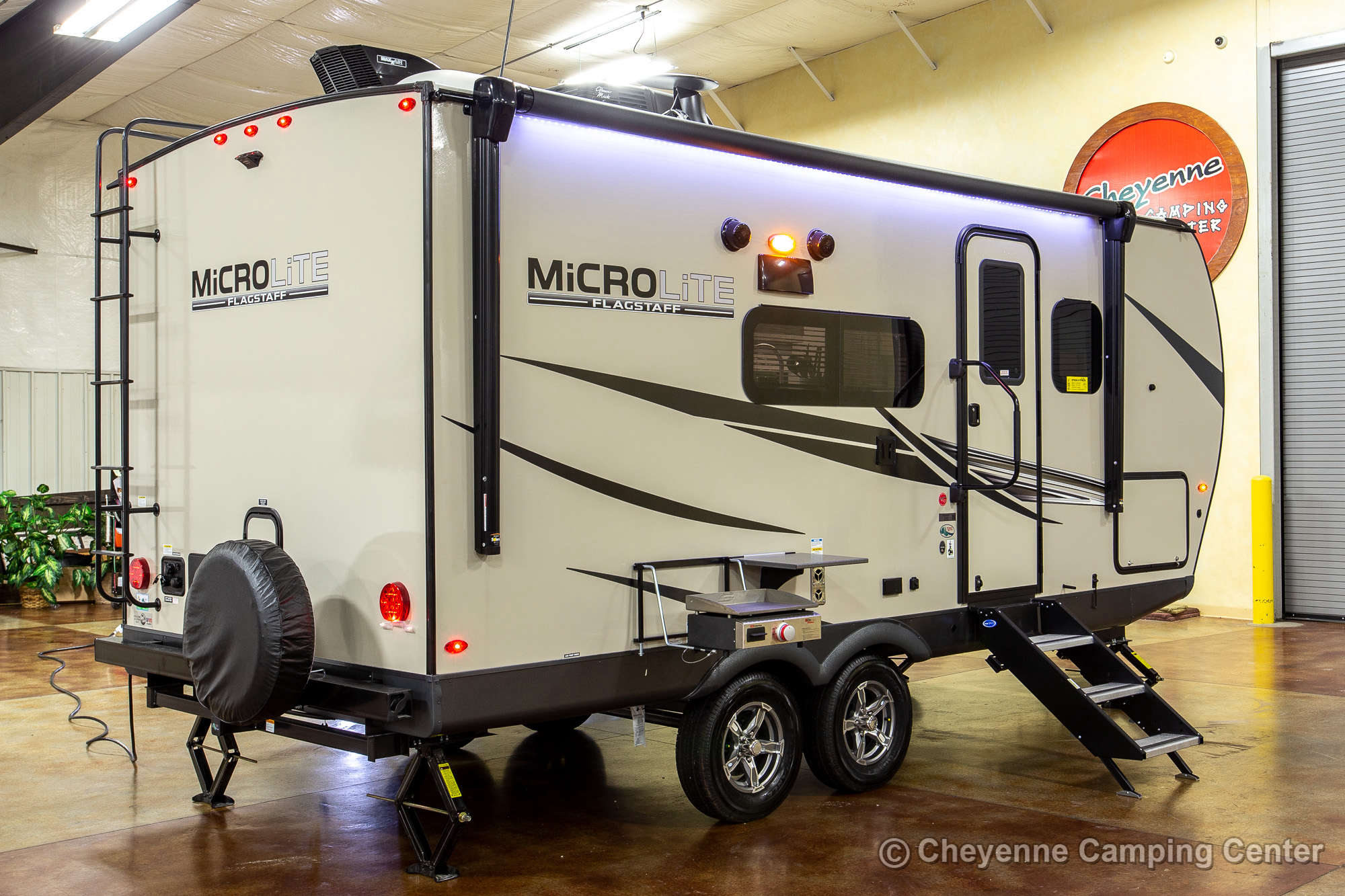 2021 Forest River Flagstaff Micro Lite 21DS Travel Trailer Exterior Image