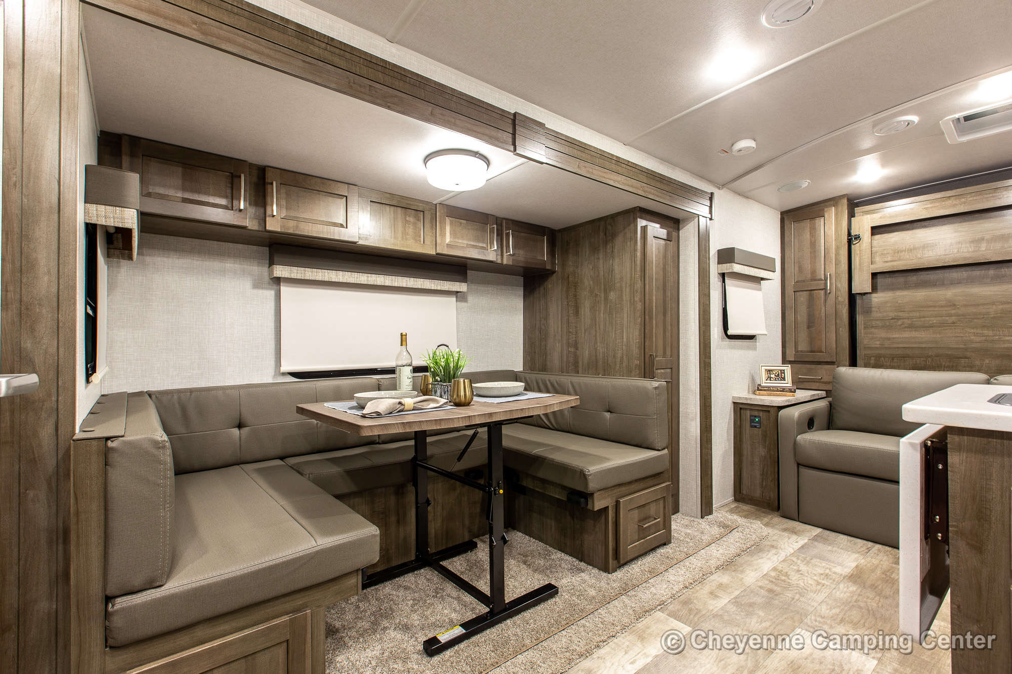 2021 Forest River Flagstaff Micro Lite 21DS Travel Trailer Interior Image