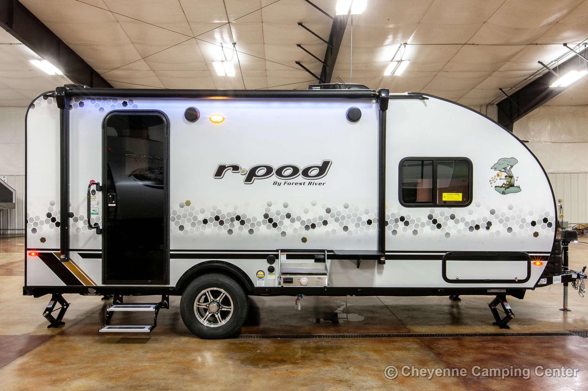 2021 Forest River R-POD RP-196 Travel Trailer Exterior Image