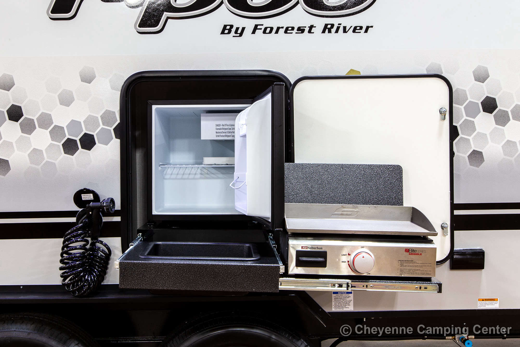 2022 Forest River R-Pod RP-202 Travel Trailer Exterior Image