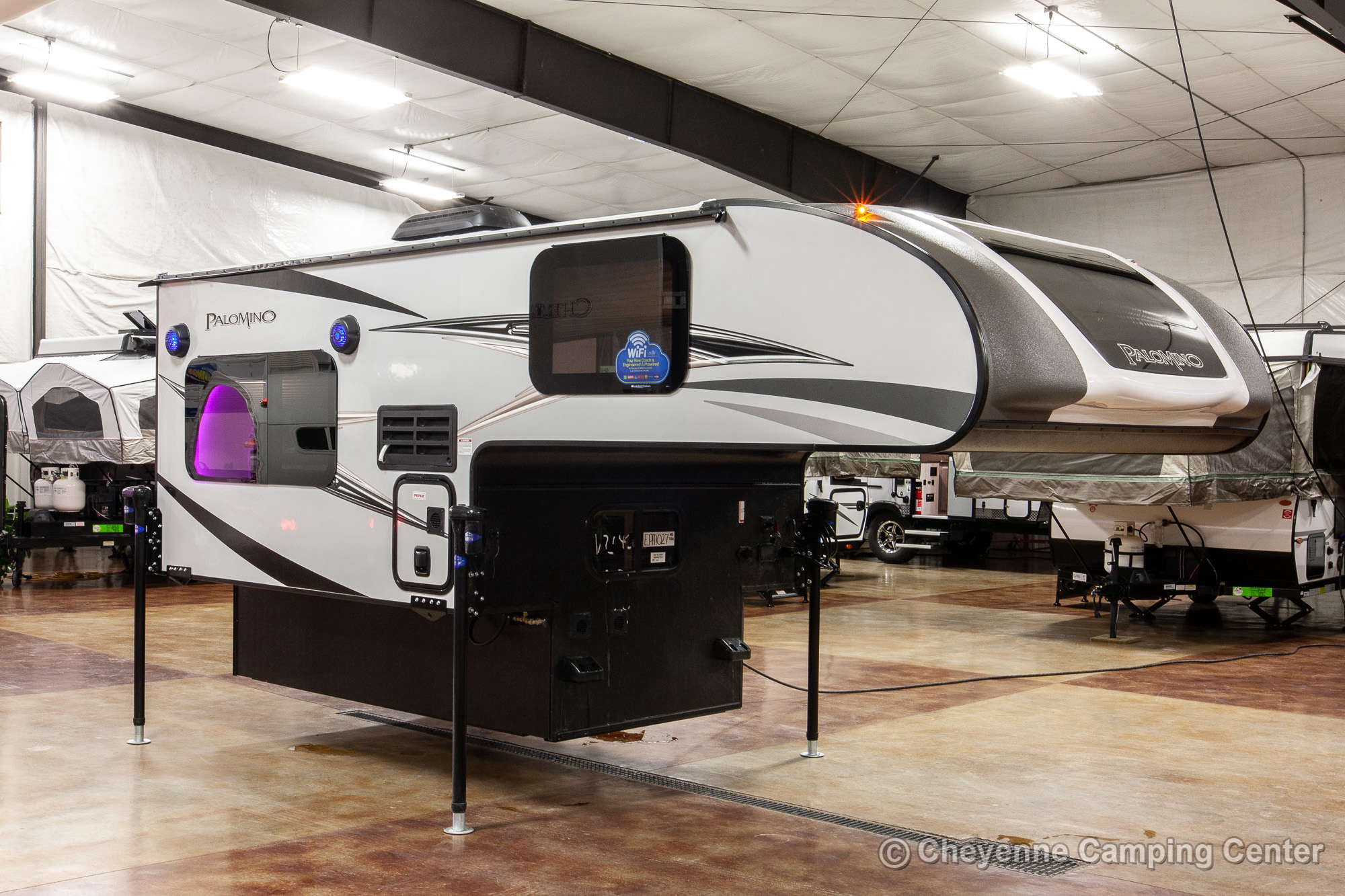 2021 Palomino BackPack HS-750 Truck Camper