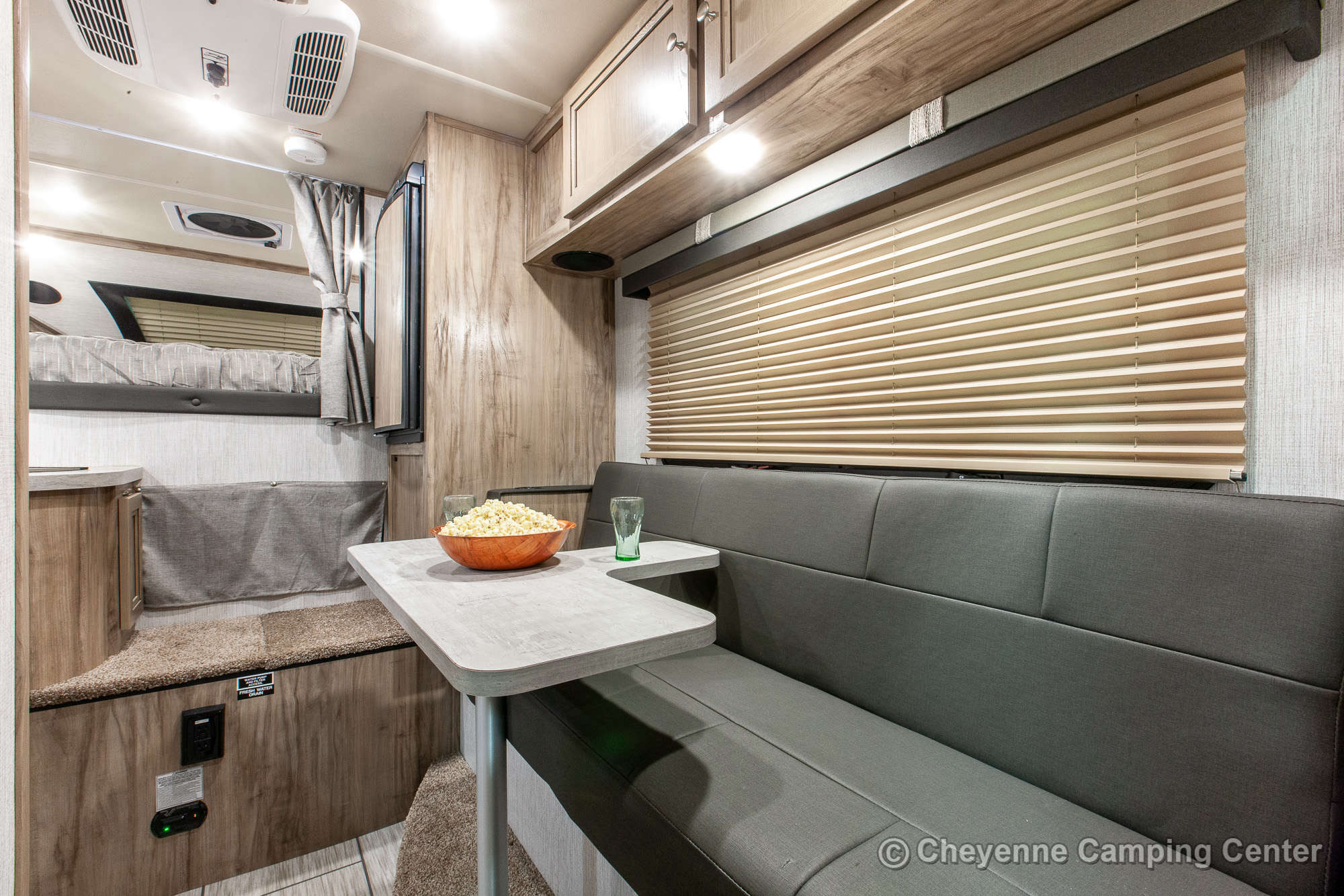 2021 Palomino BackPack HS-750 Truck Camper Interior Image