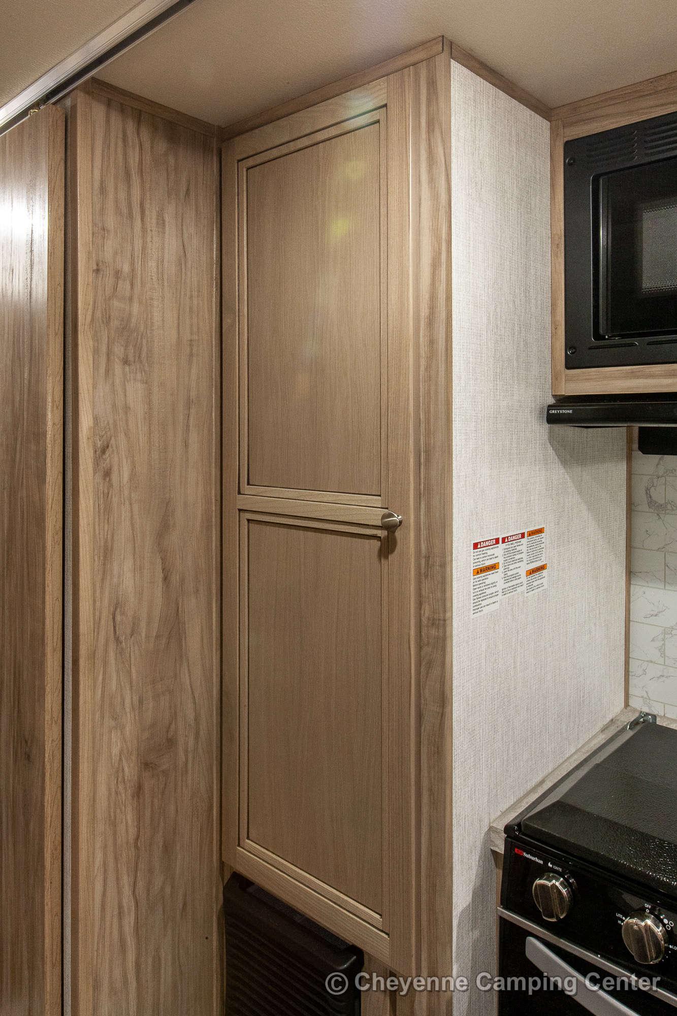 2021 Palomino BackPack HS-8801 Truck Camper Interior Image