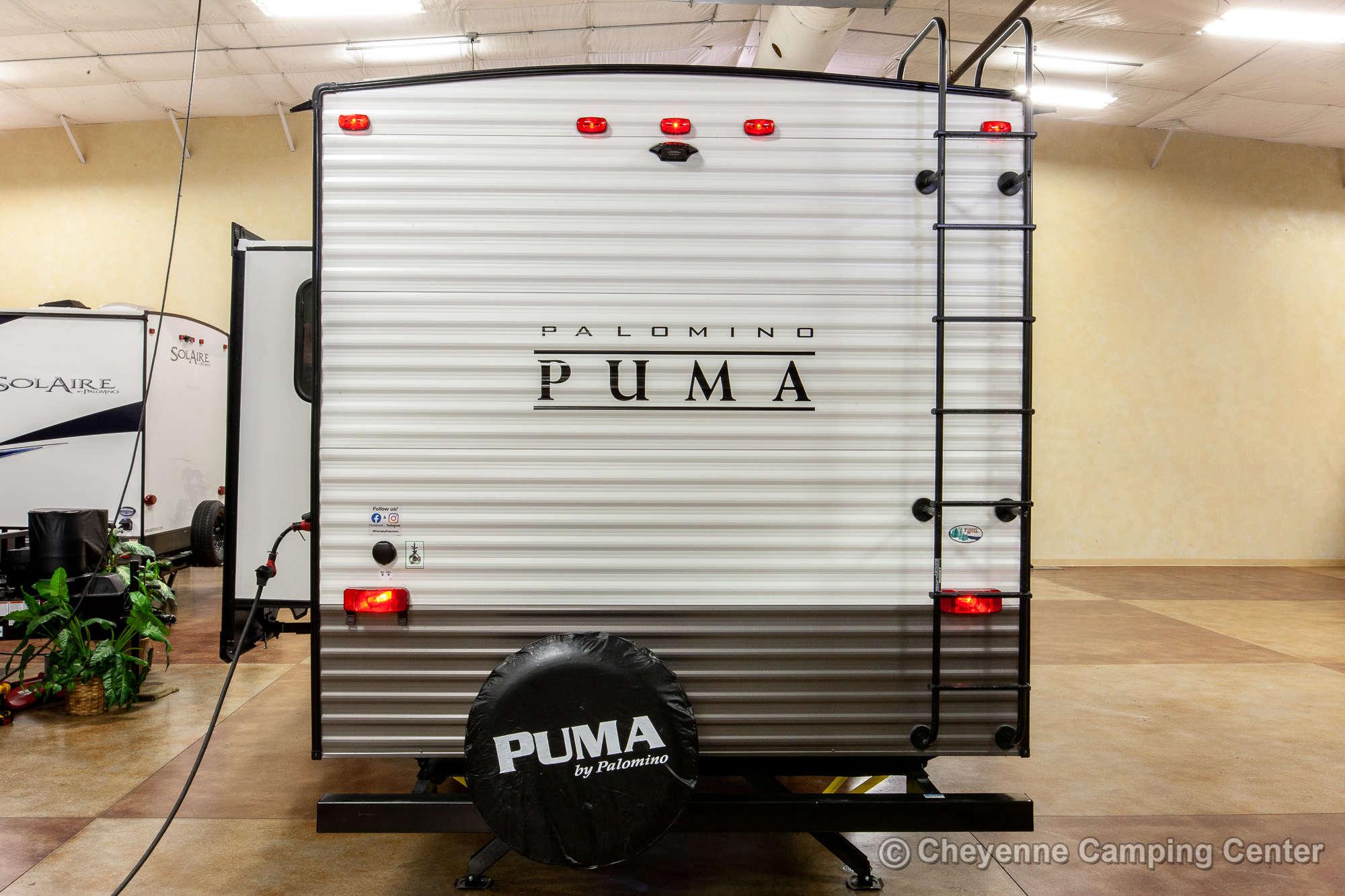 2021 Palomino Puma 289BHS Bunkhouse Fifth Wheel Exterior Image