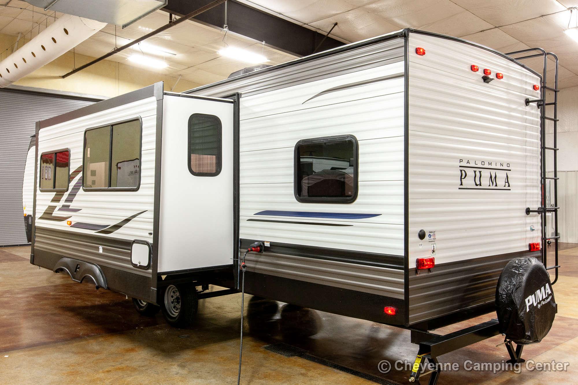 2021 Palomino Puma 28BHSS Bunkhouse Travel Trailer Exterior Image